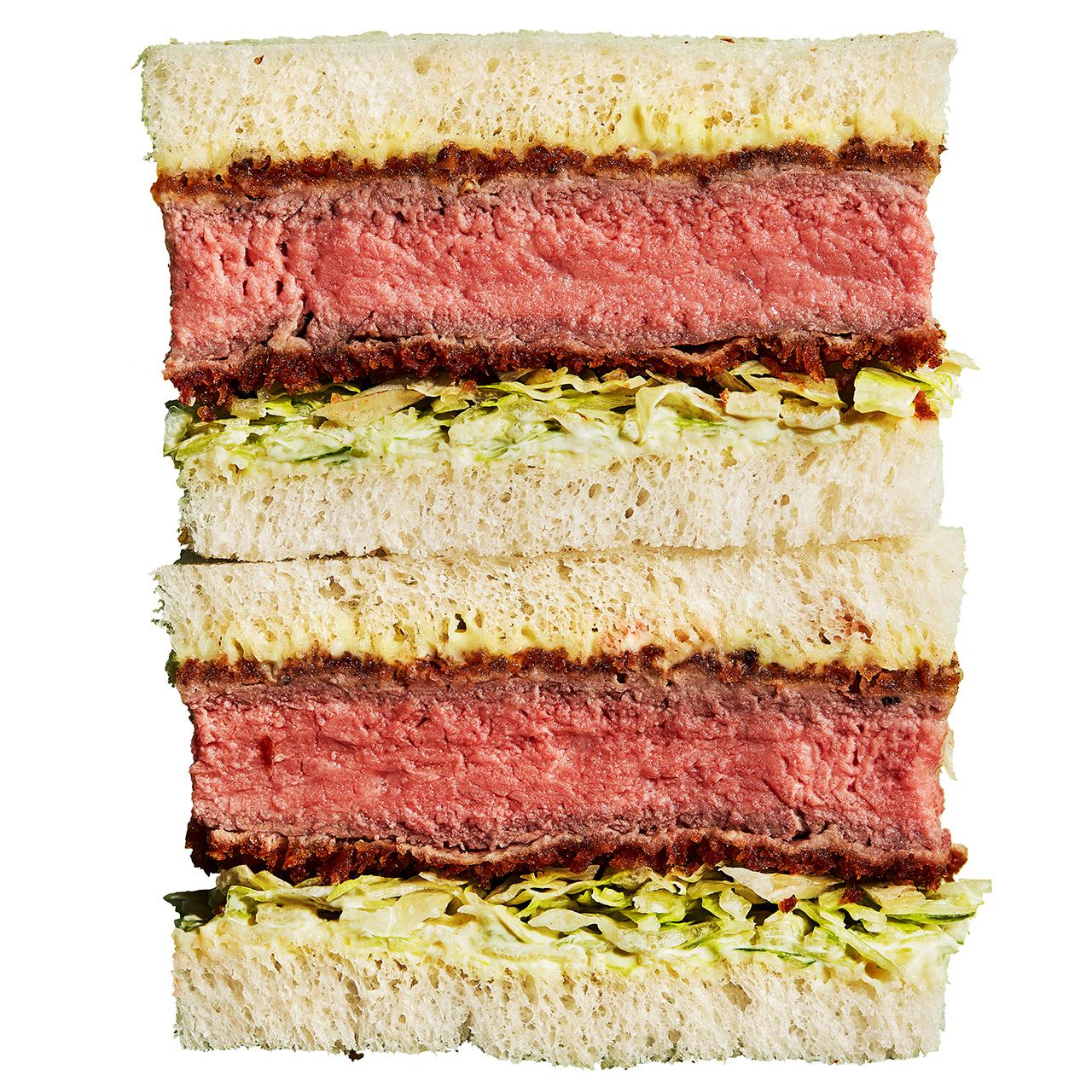 steak katsu sandwich