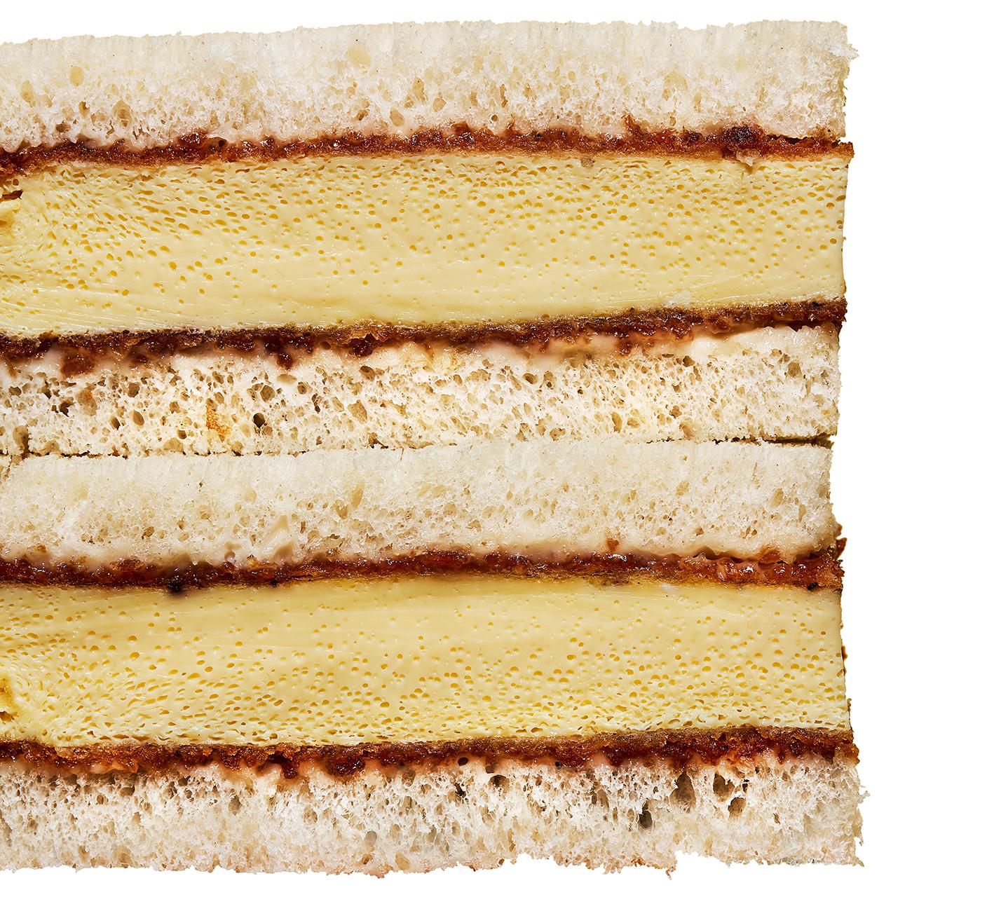 egg katsu sandwich