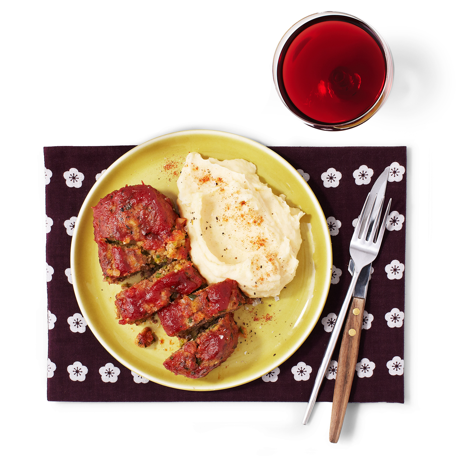 Louisiana-Style Meat Loaves and Mashed Potatoes