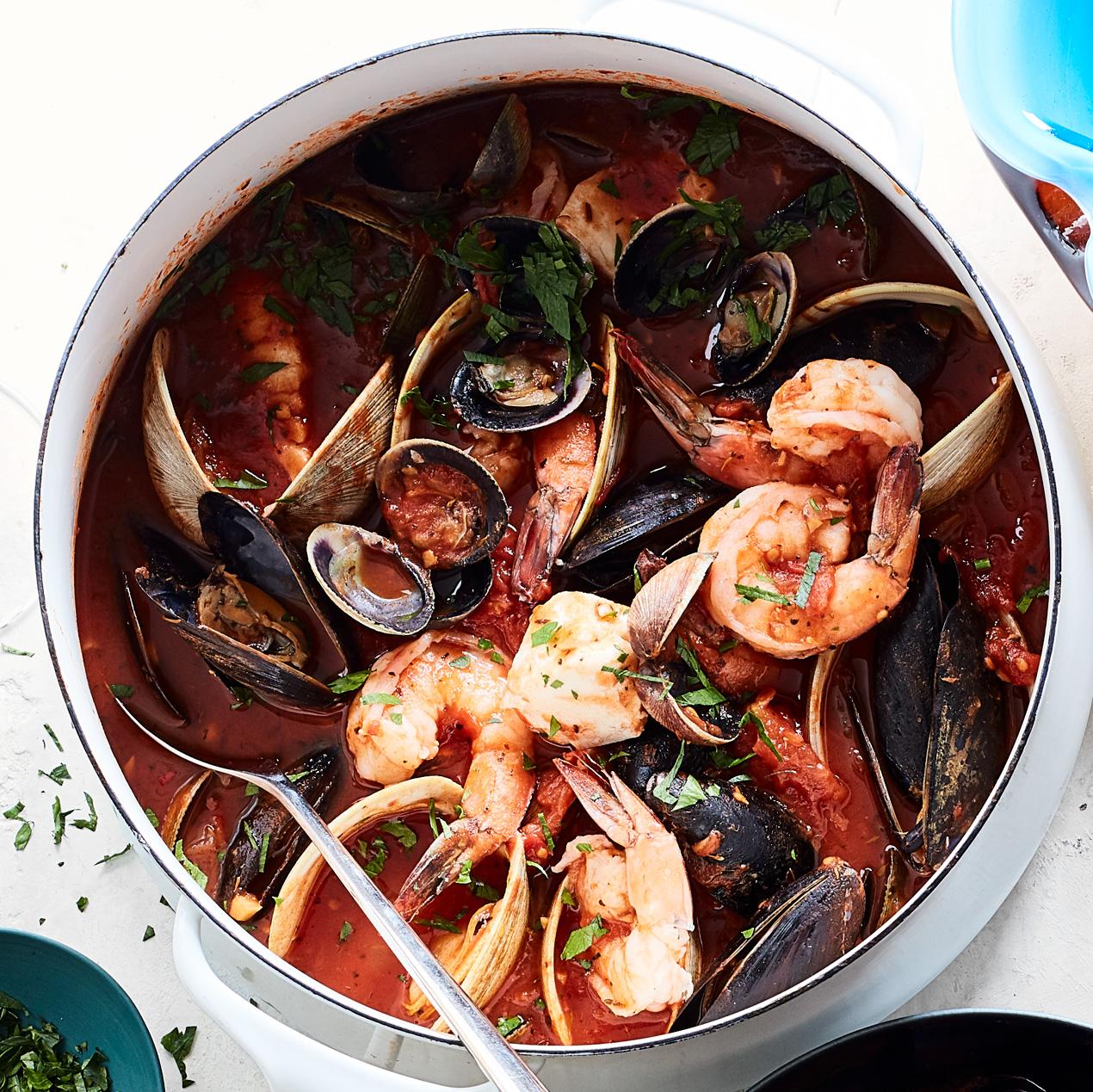San Francisco–Style Seafood Stew