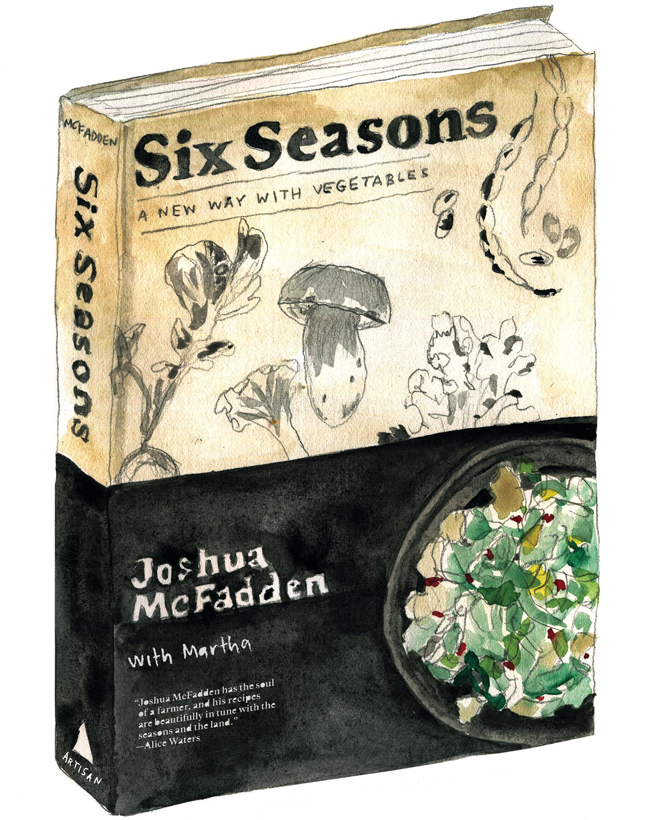 six seasons a new way with vegetables book