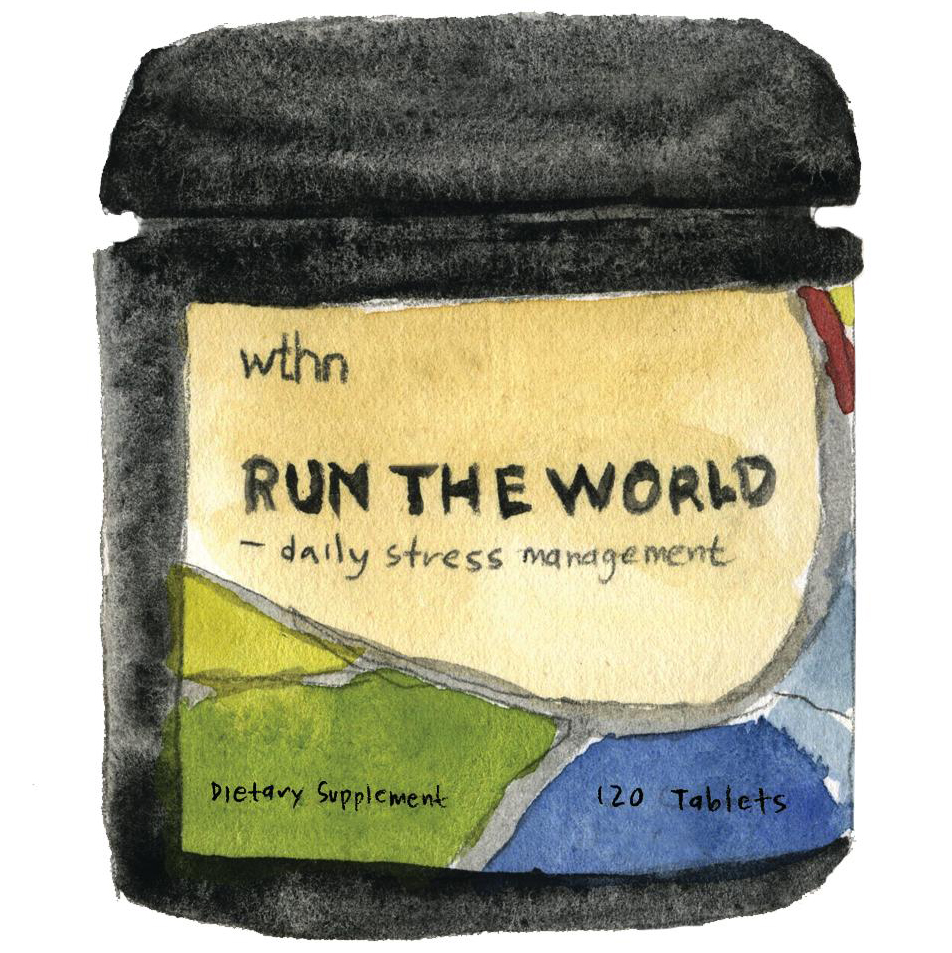 run the world stress-relief tablets
