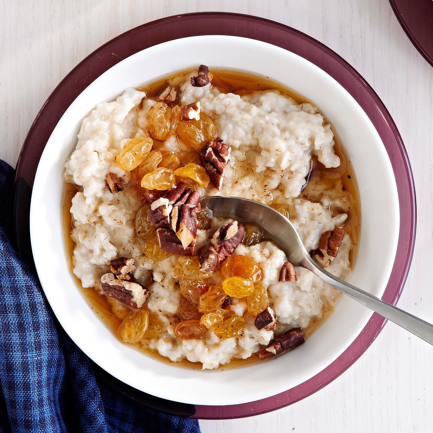 Maple-Raisin Oatmeal