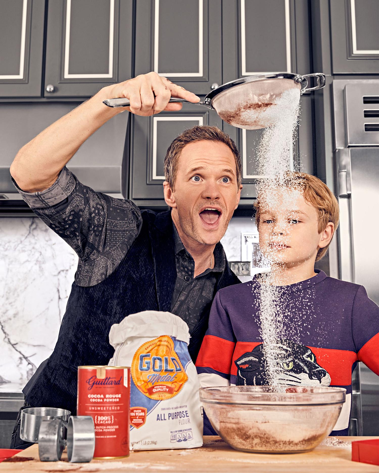 Neil Patrick Harris and son Gideon
