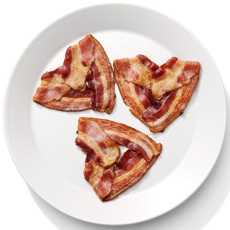 Heart-Shaped Bacon