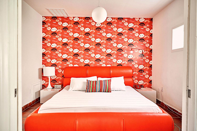 Austin Motel guest room
