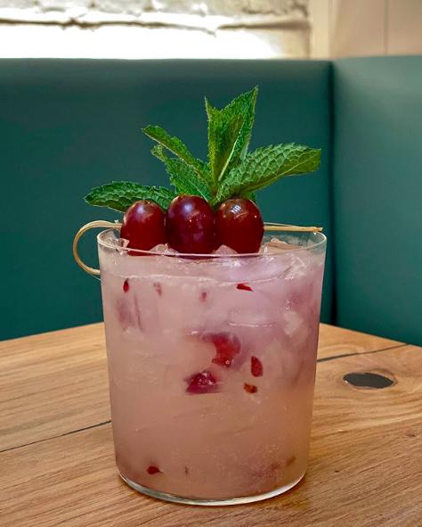 The Uvas Shuffle Cocktail