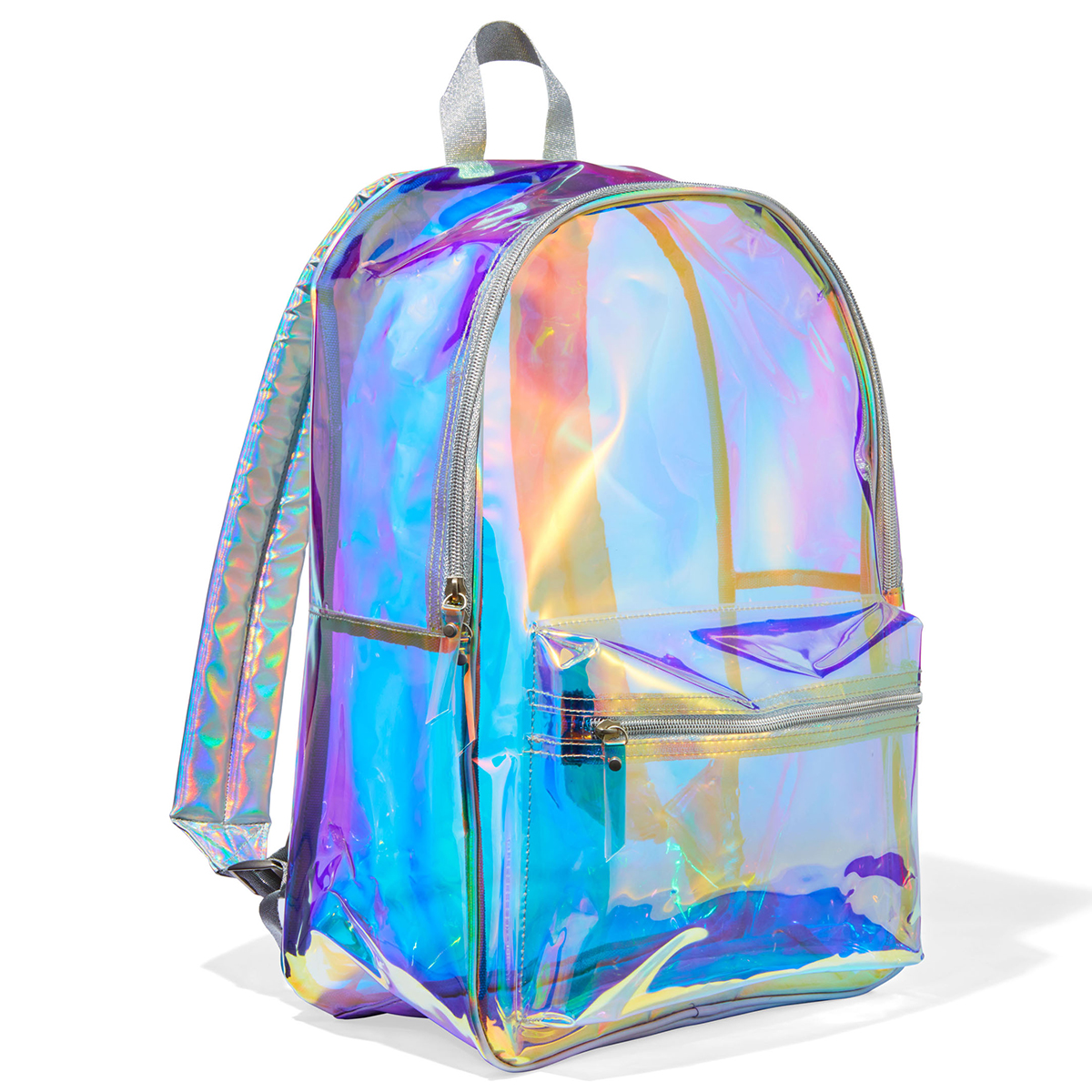 Pottery Barn Teen Clearly There Iridescent Backpack