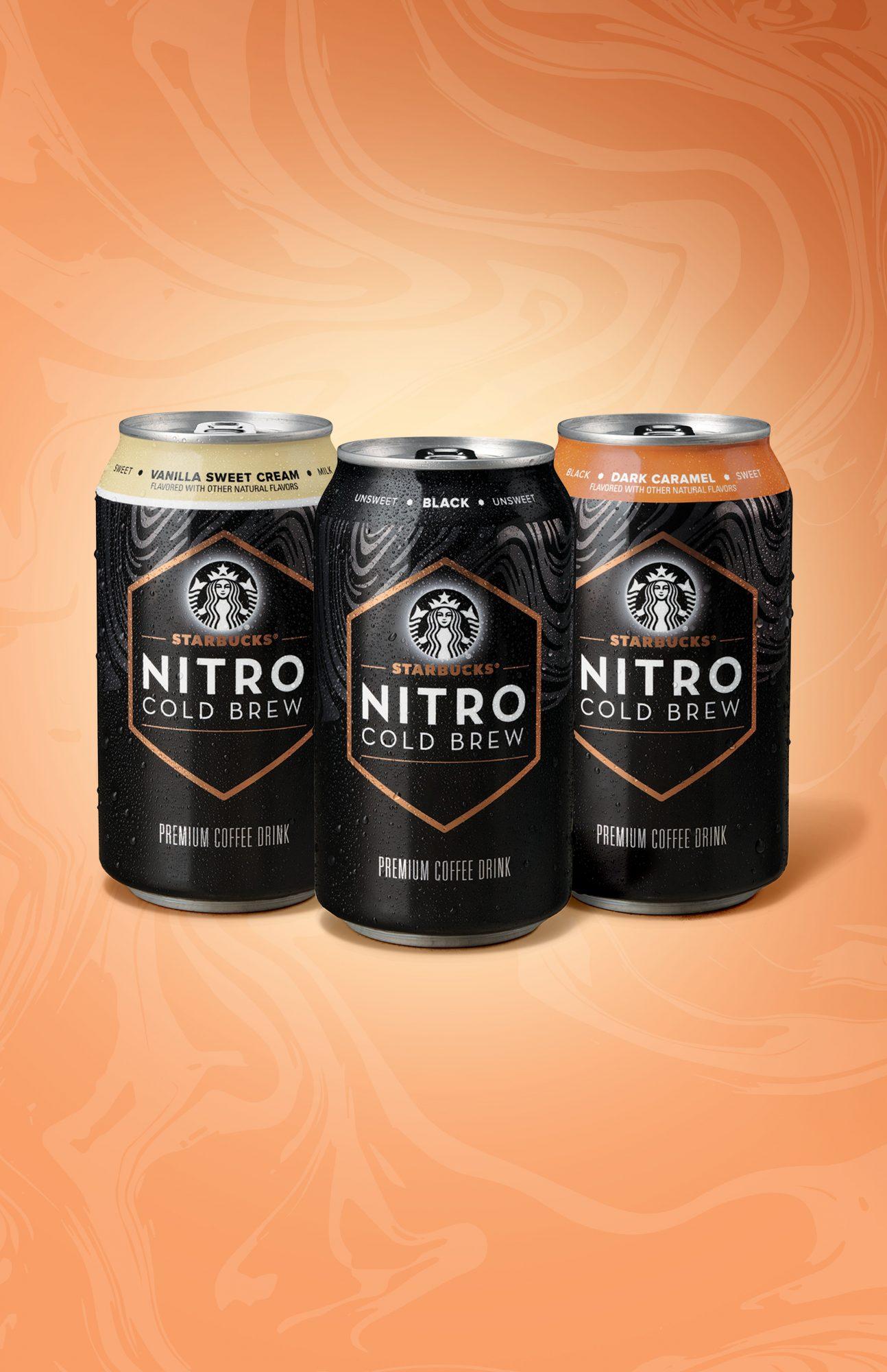 RTD Nitro Cold Brew Group