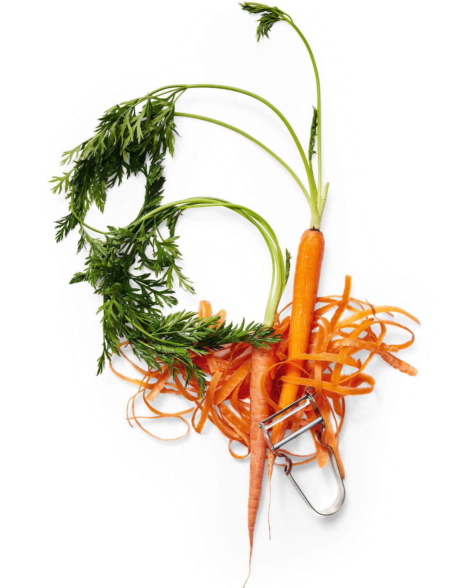 peeled carrot