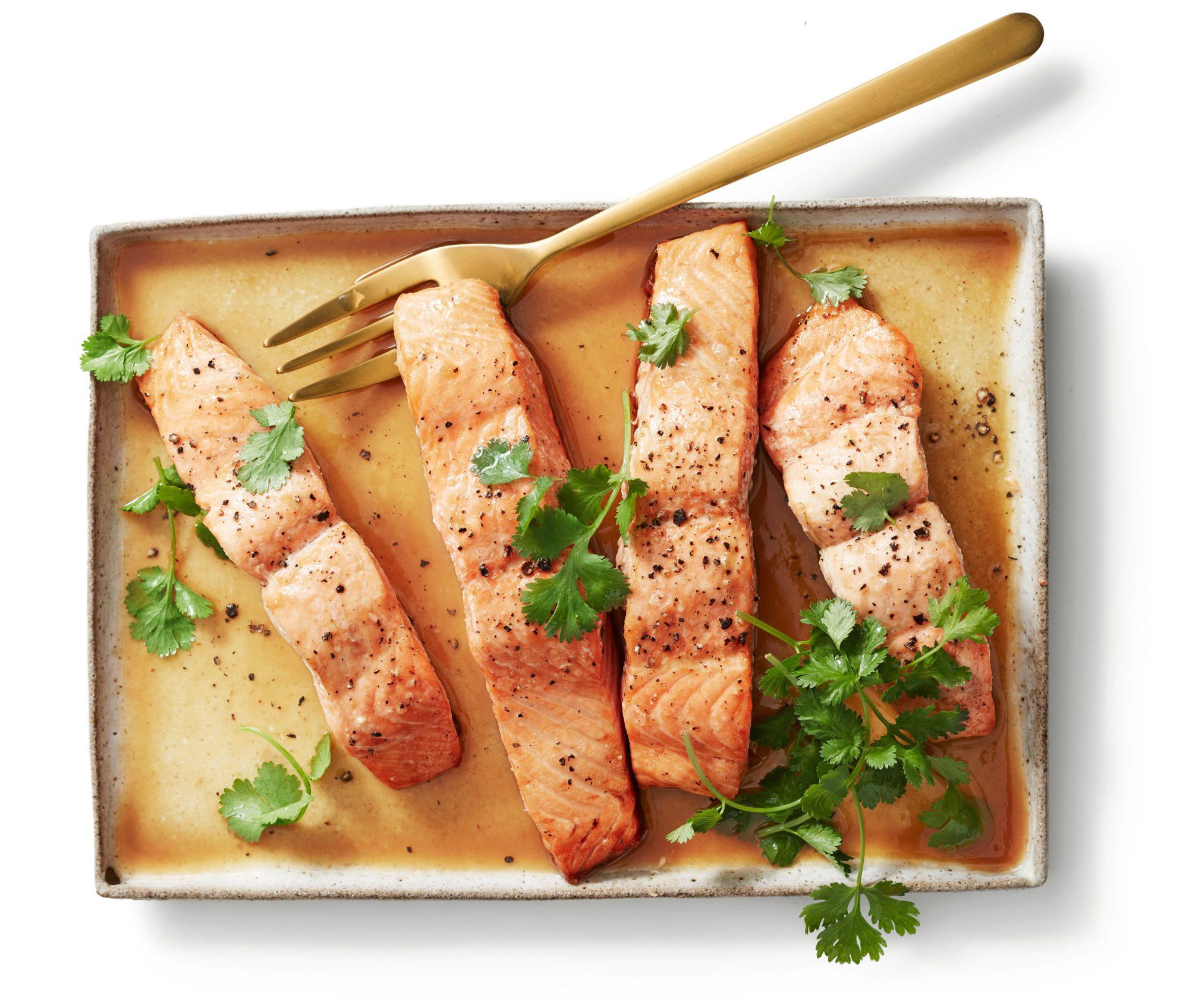 Thai Glazed Salmon