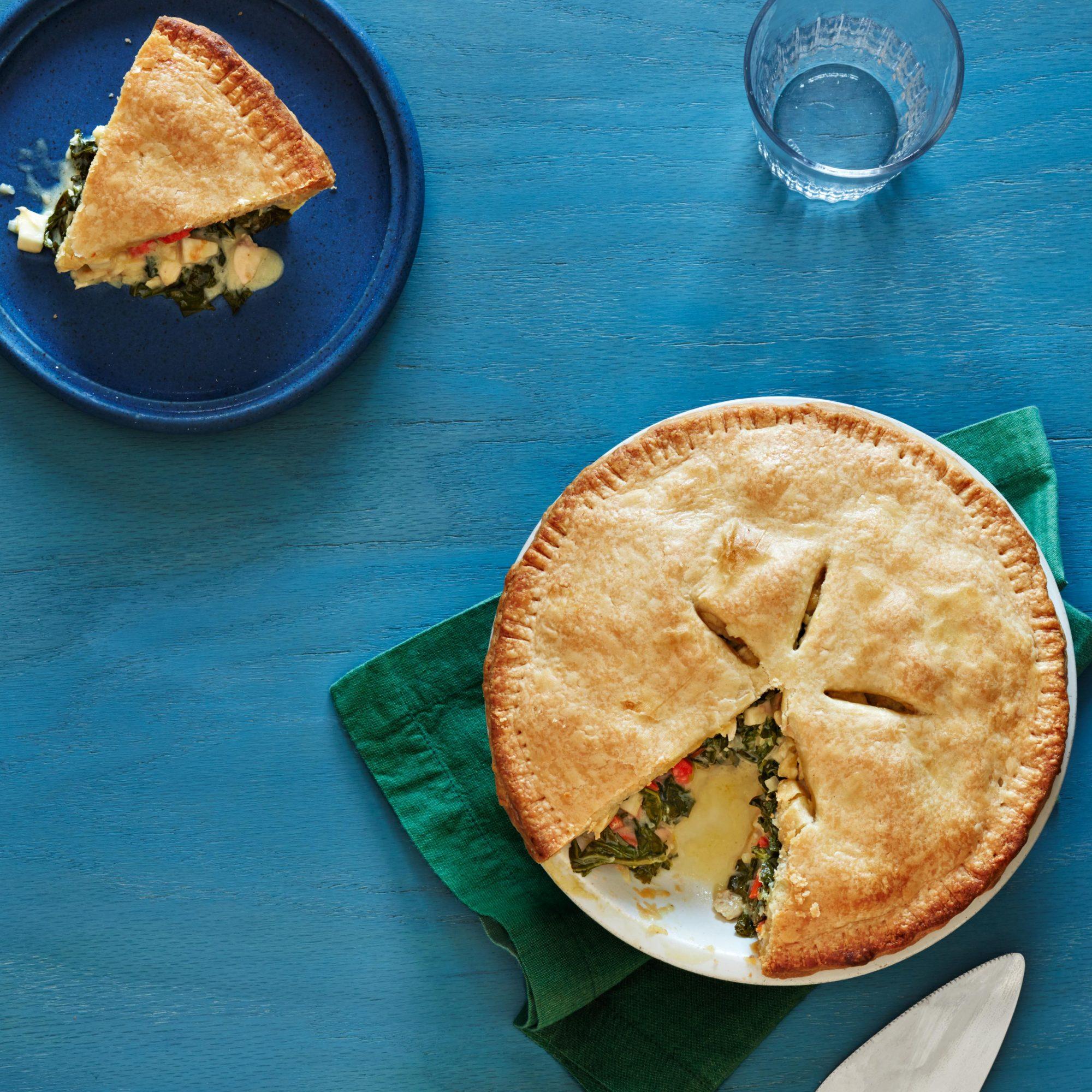 Chicken & Kale Pot Pie