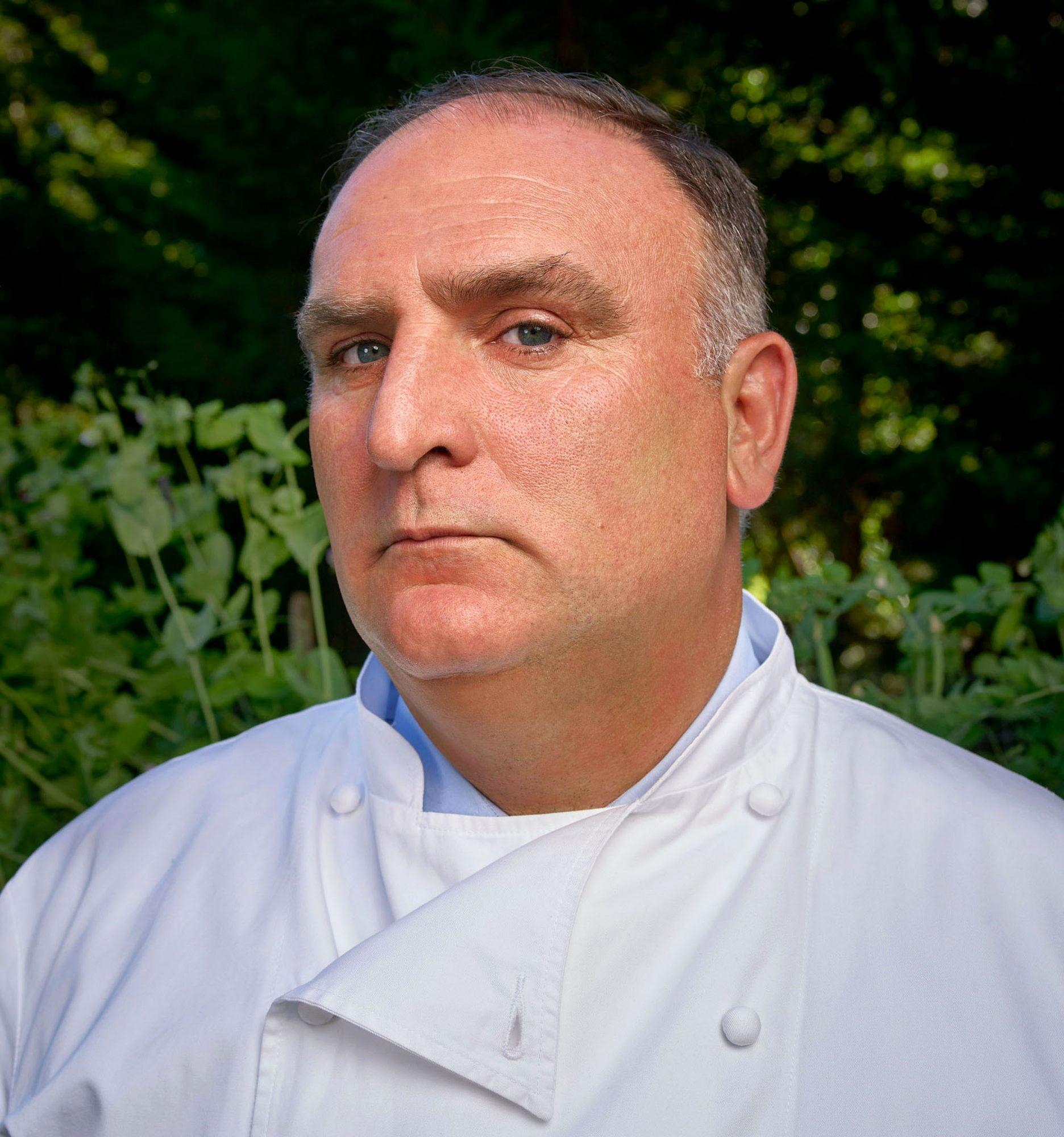 portrait of celebrity chef jose andres