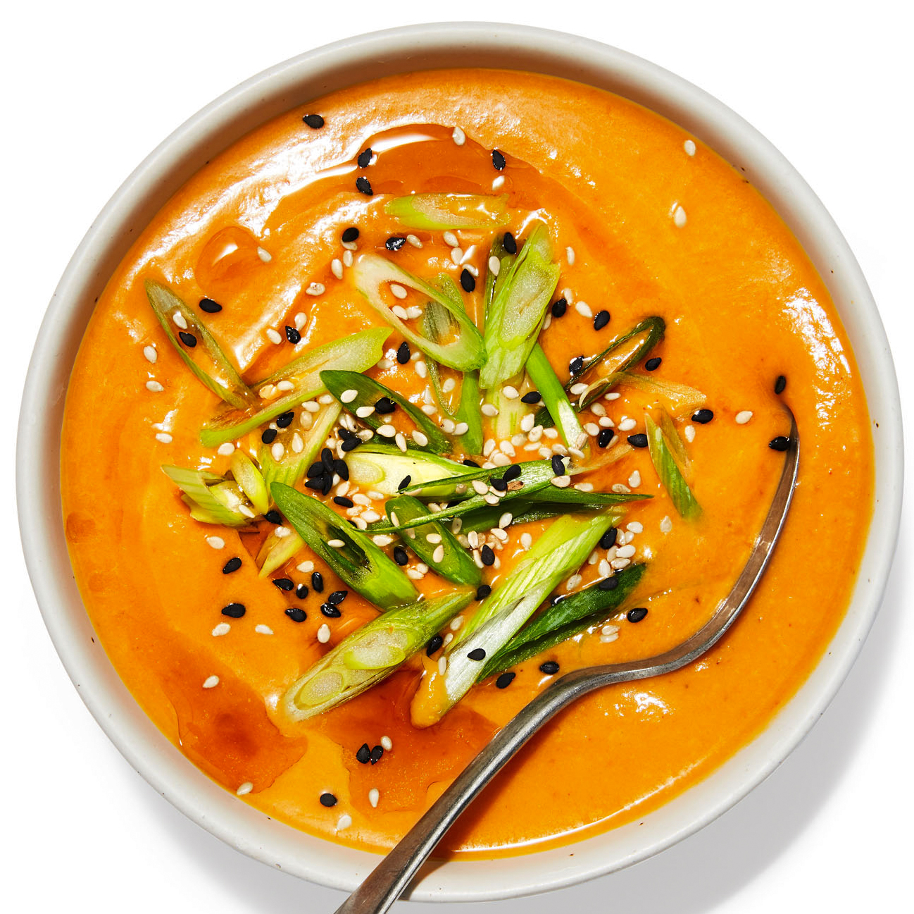 Pumpkin Soup with Coconut & Curry