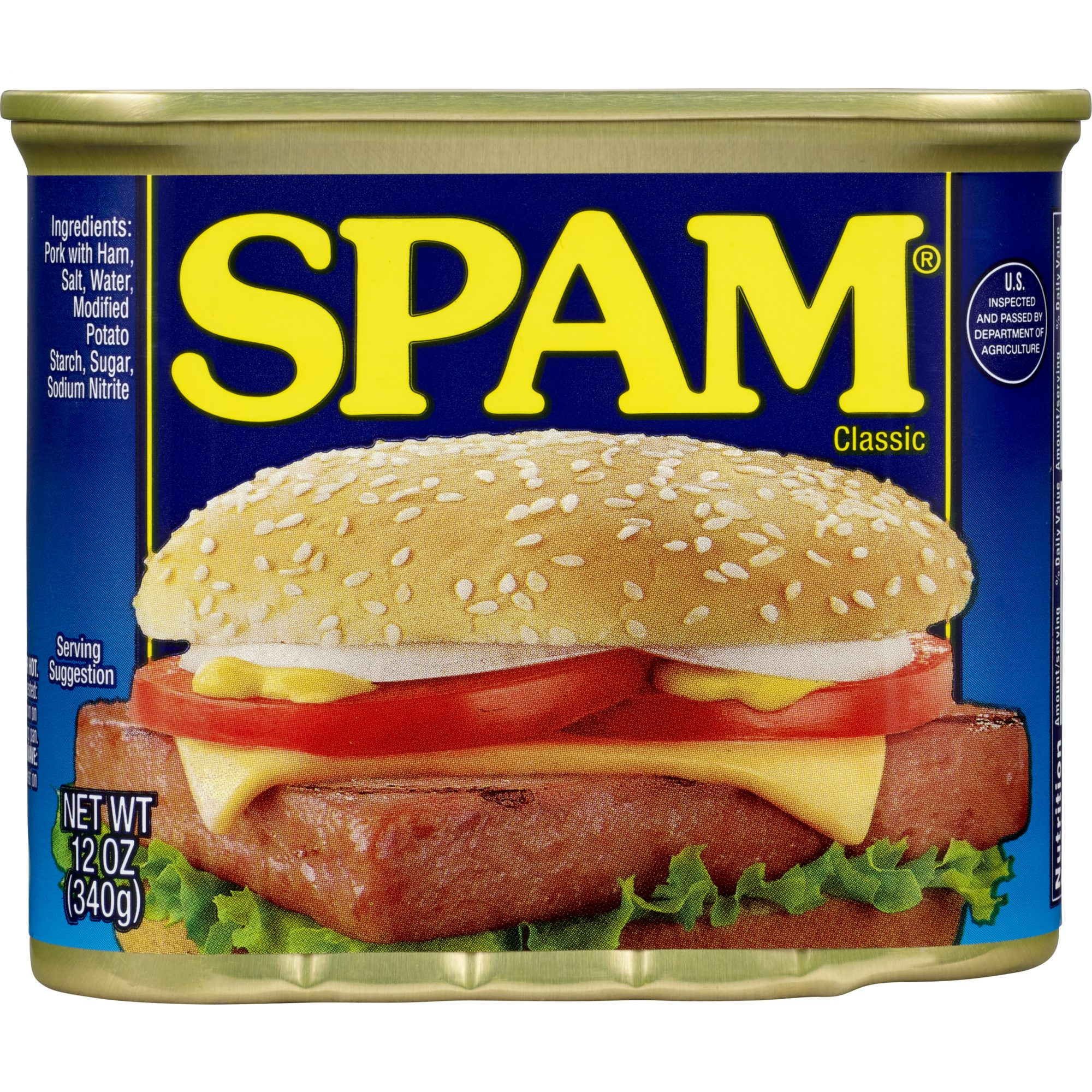 Current Spam Can