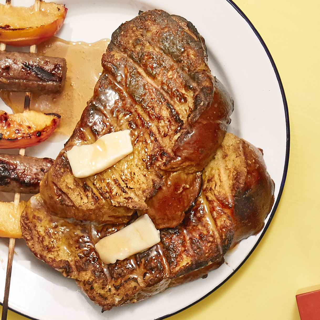 grilled challah french toast