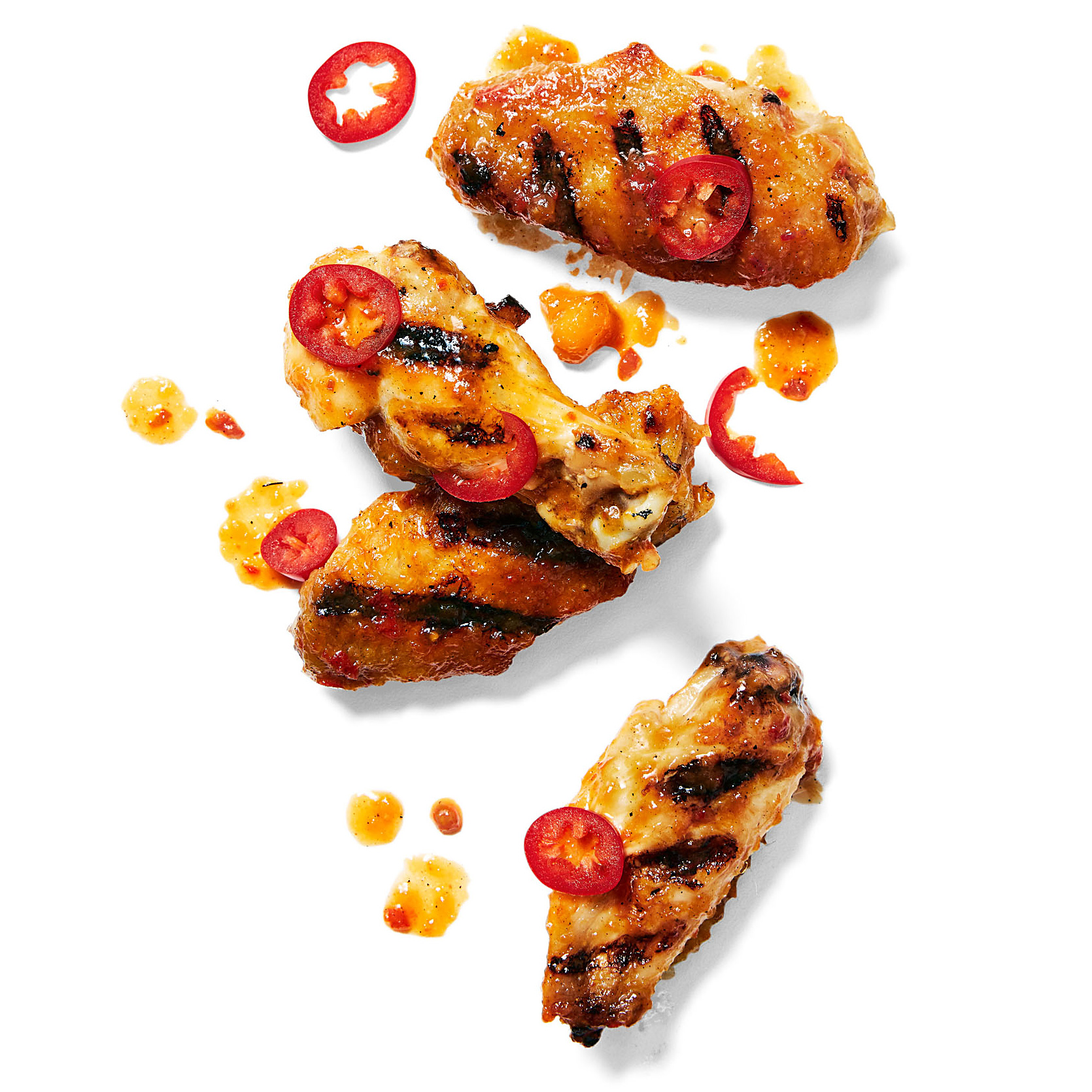 Grilled Soy-Glazed Chicken Wings