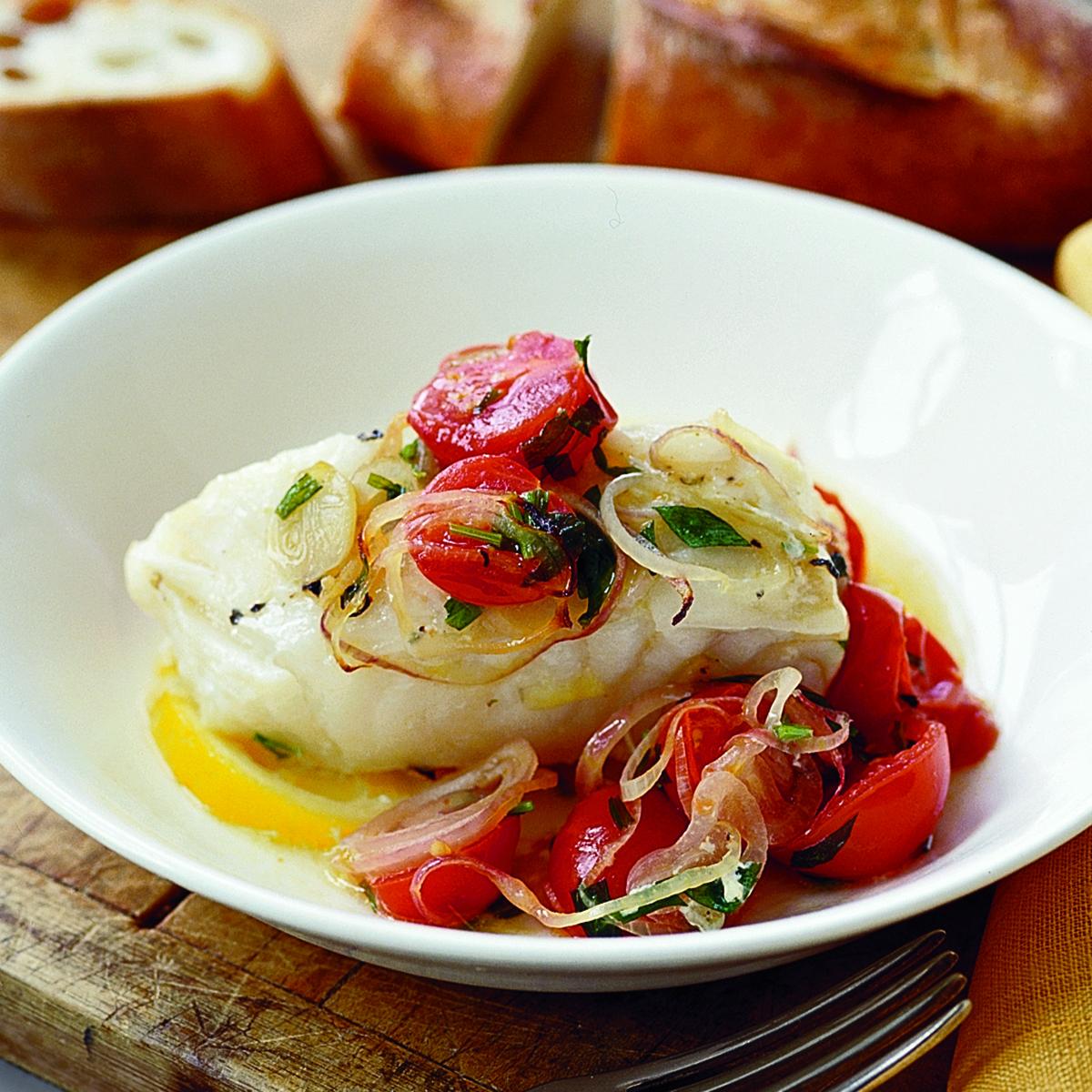 tarragon tomato fish