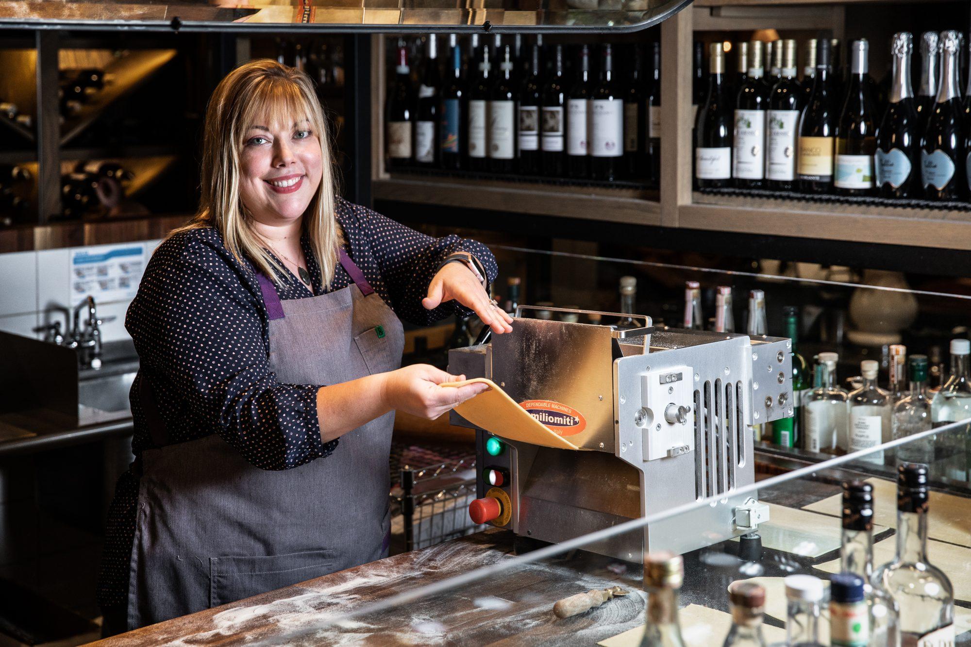 Sarah Grueneberg, chef and partner at Monteverde Pastificio in Chicago