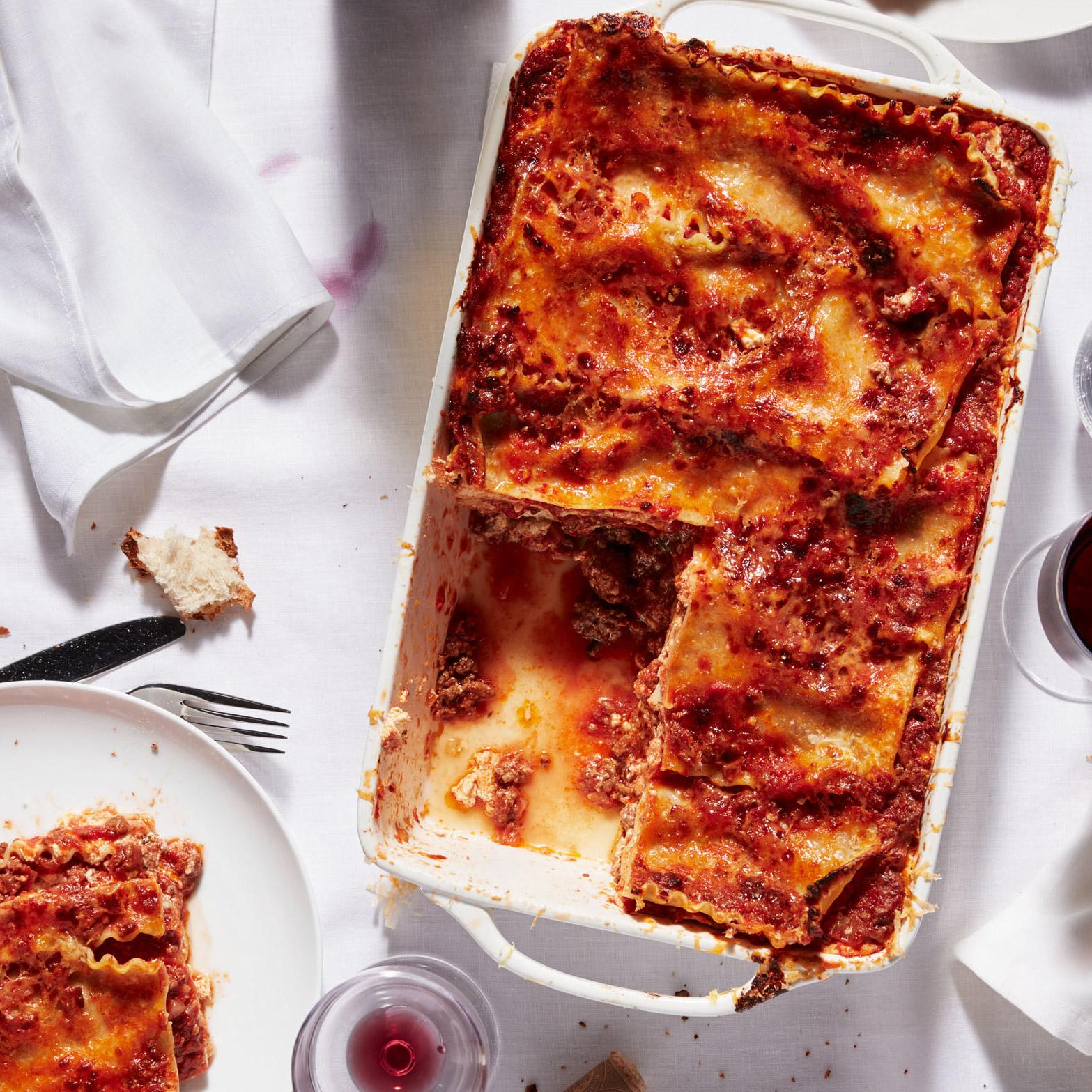 tony bennets mothers lasagna