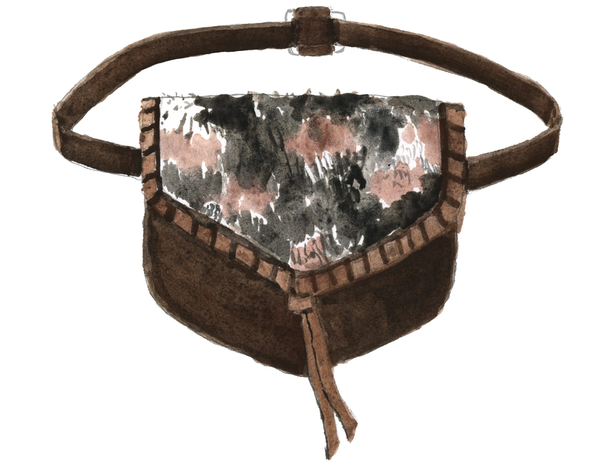 illustration of convalore everyday belt bag