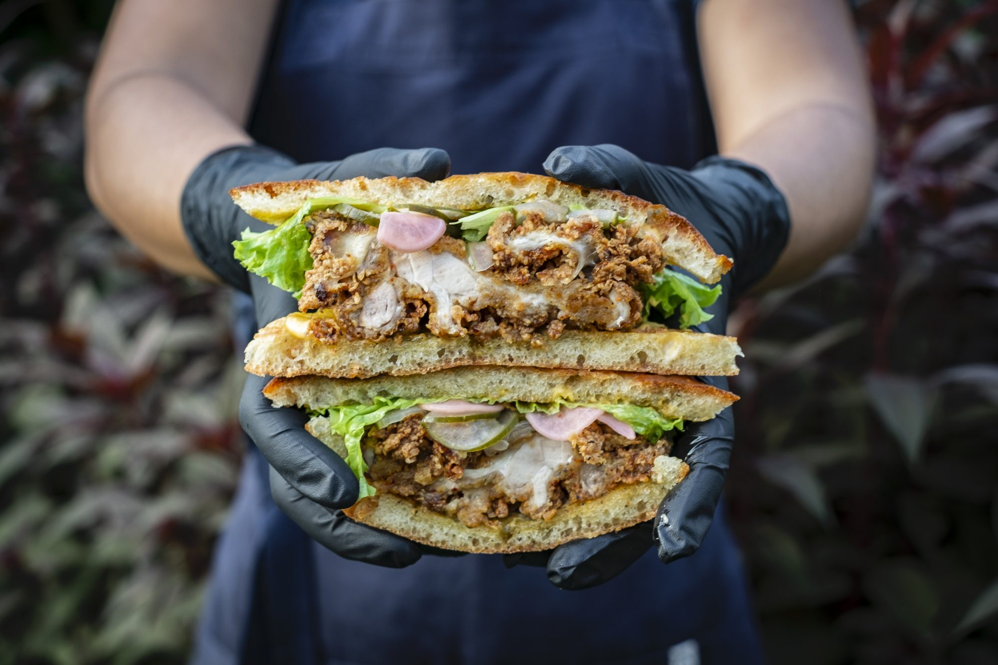 Chicken Sandwich (credit_ Fitria Sulistyorini)