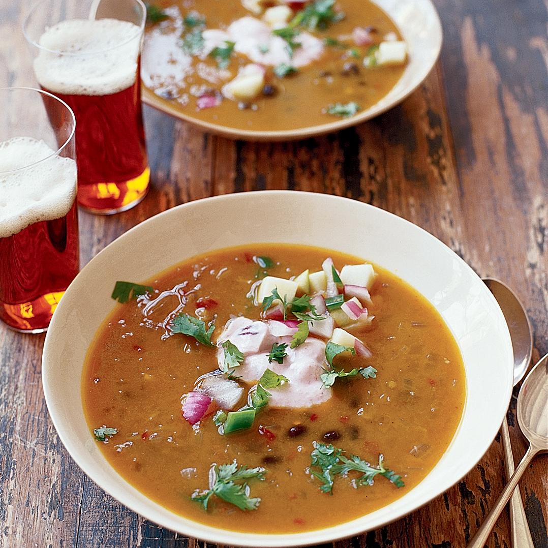 Chipotle-Pumpkin Black Bean Soup