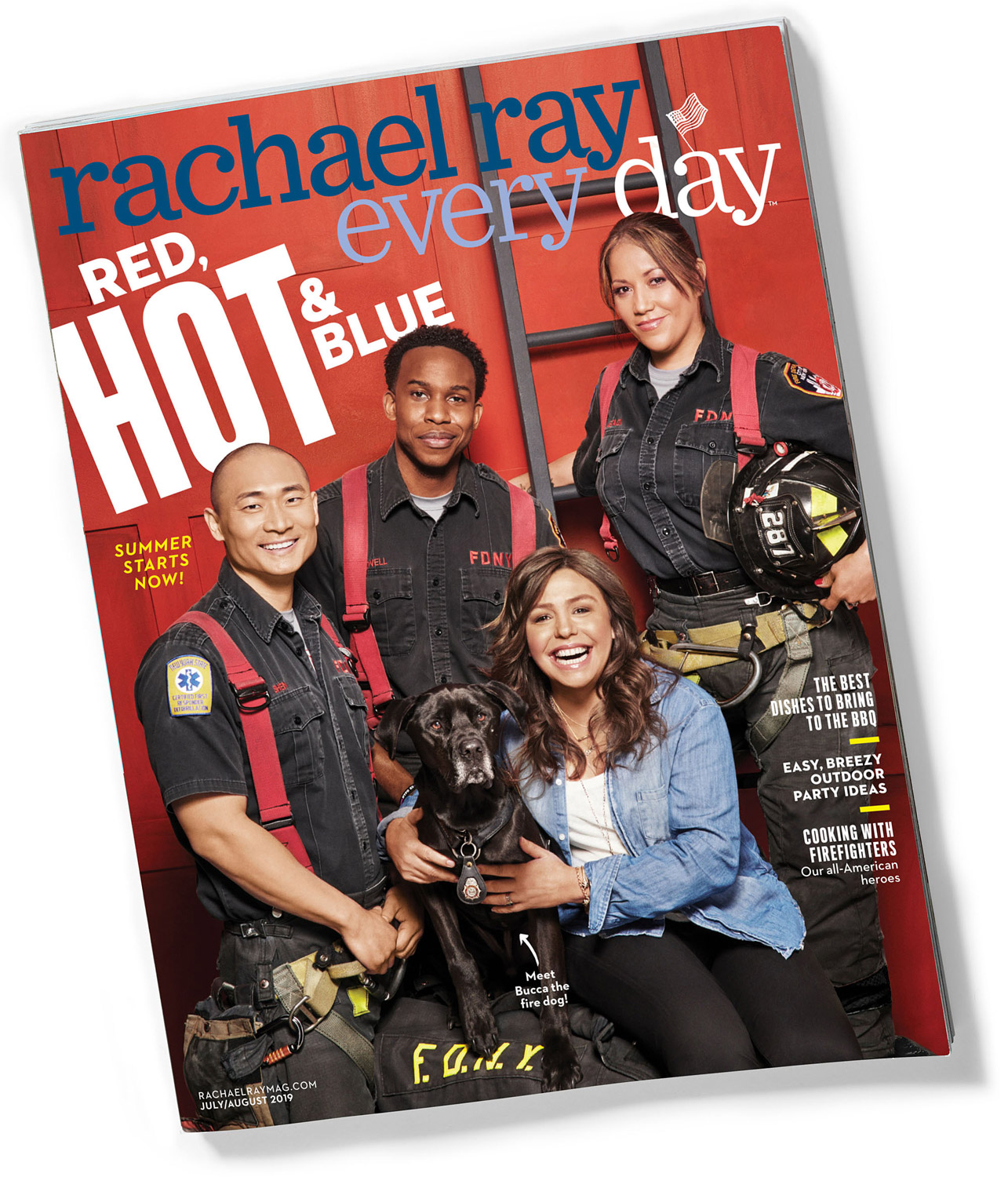 Rachael Ray Every Day Red, Hot & Blue mag cover