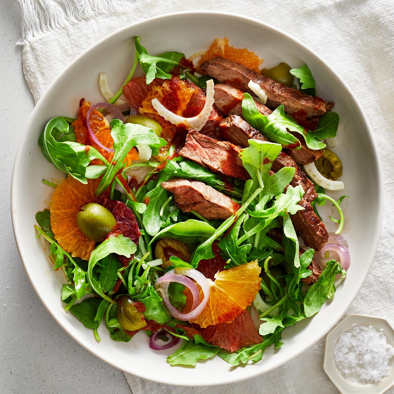Steak and Citrus Salad