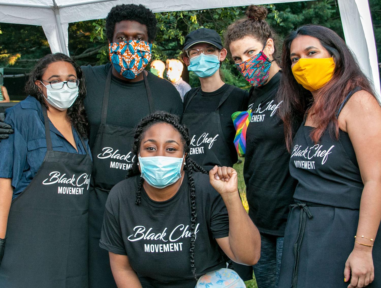 Black Chef Movement Volunteers