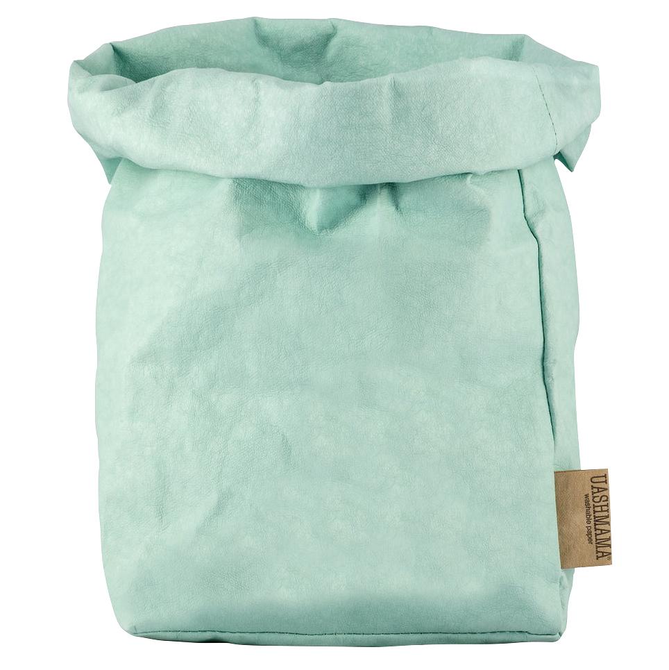 UASHMAMA eco-friendly washable paper bag in Oceano