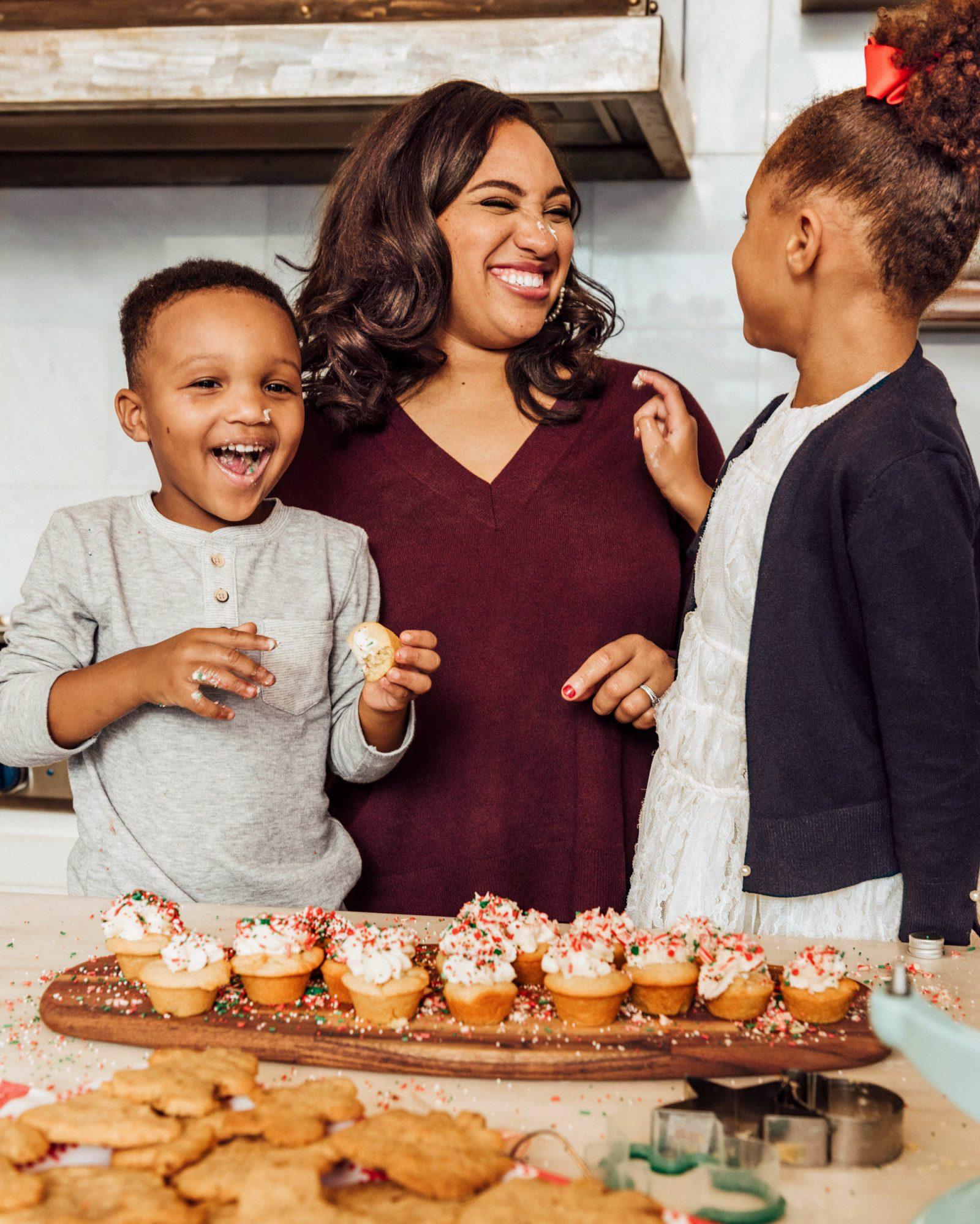 Marissa Allen baking with kids