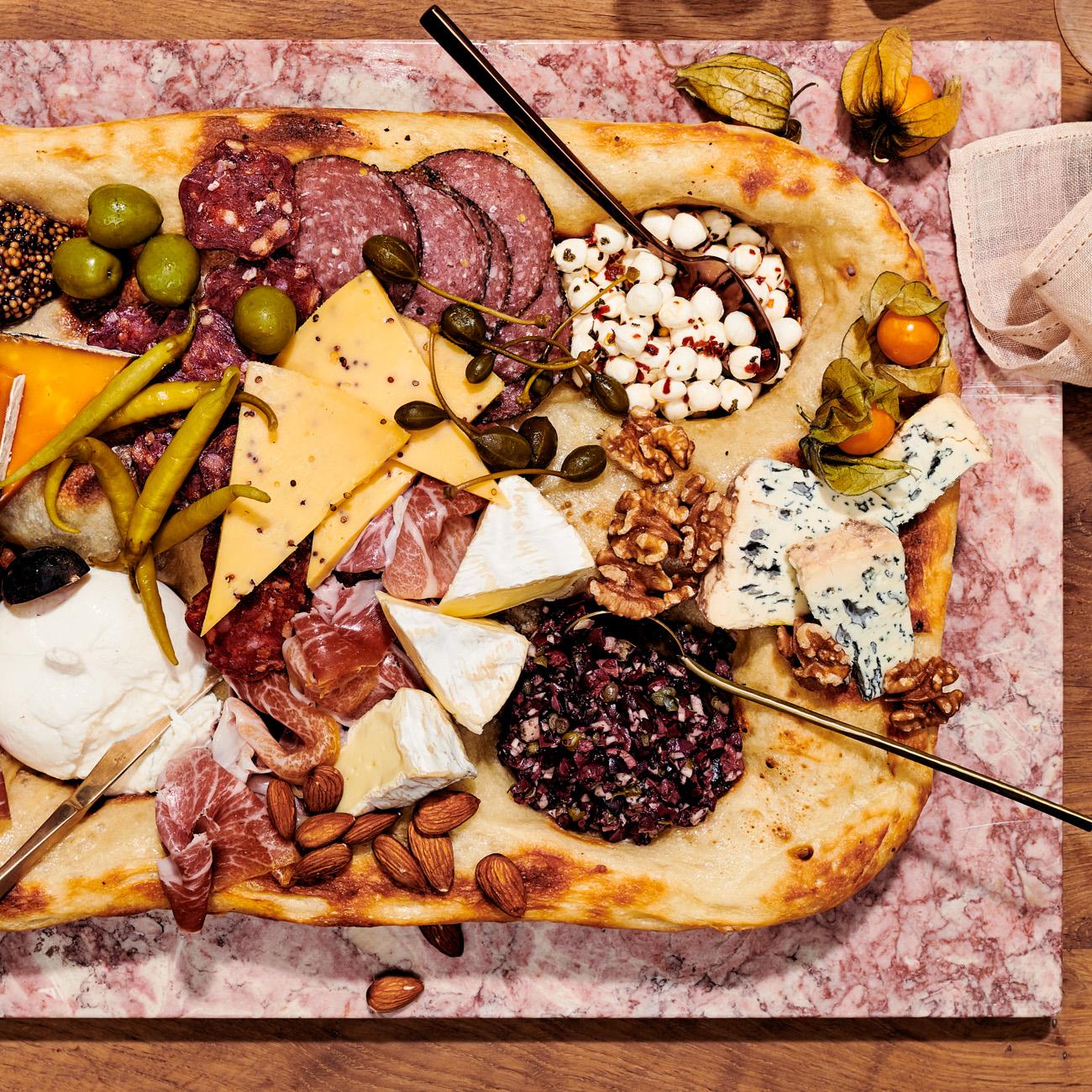 incredible edible cheese board