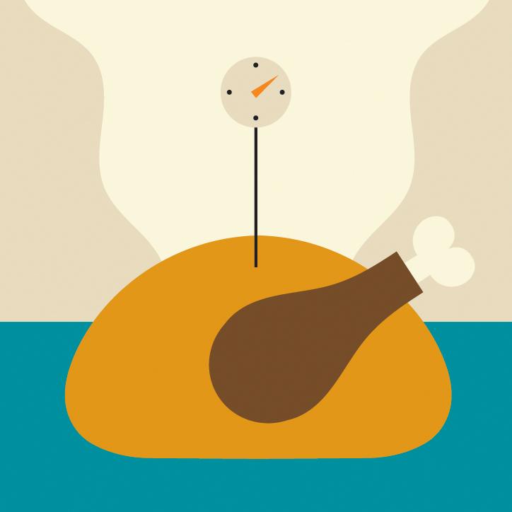 turkey temp illustration