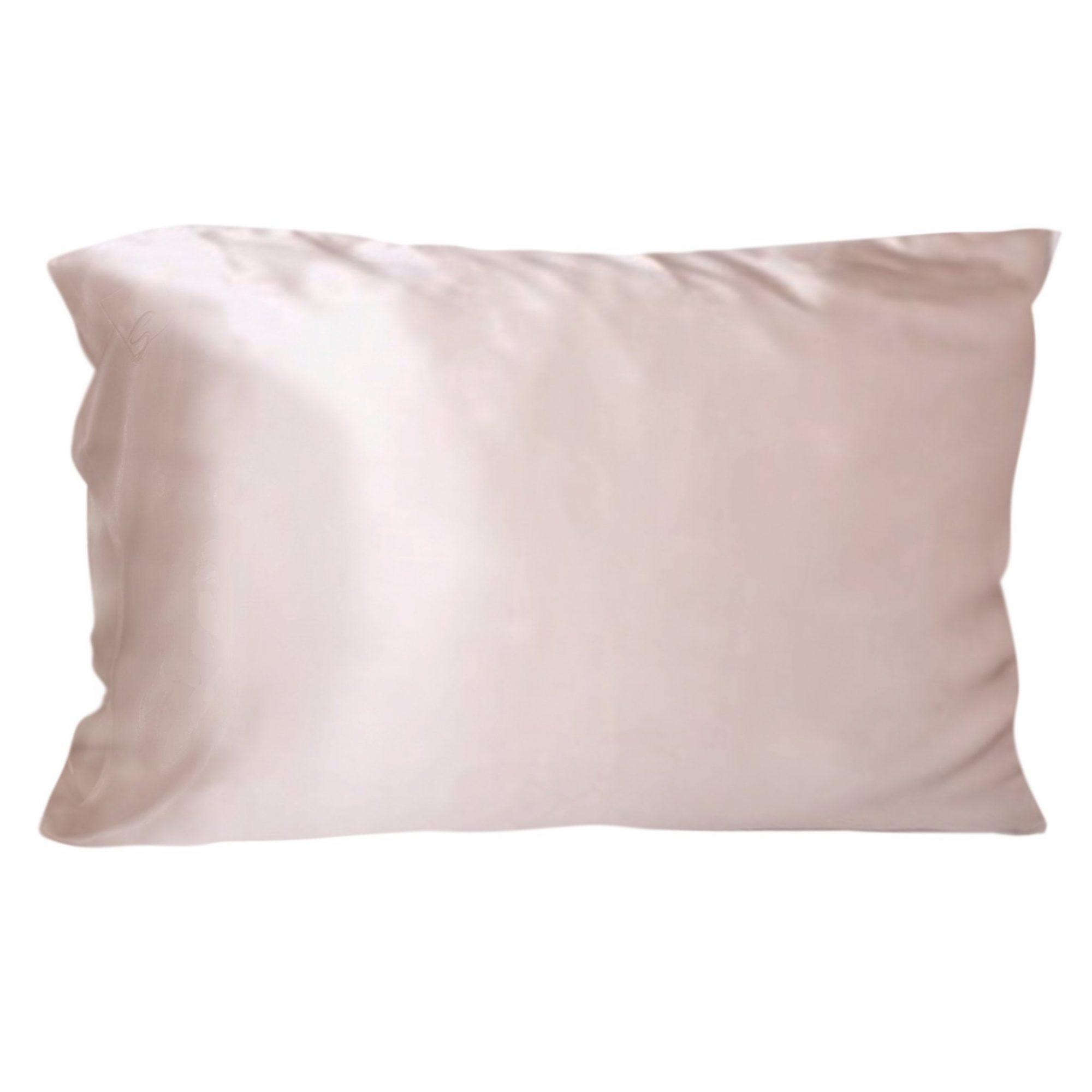 silk pillowcase sleep bed bedding