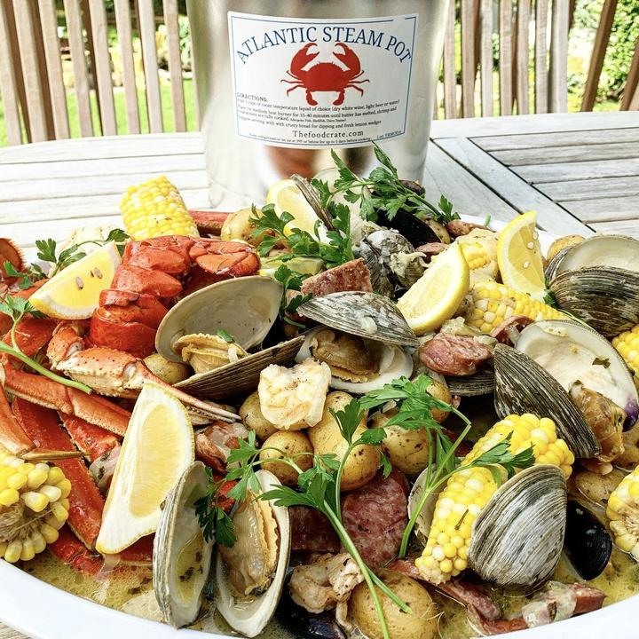 Large Customizable Atlantic Steampot - The Food Crate
