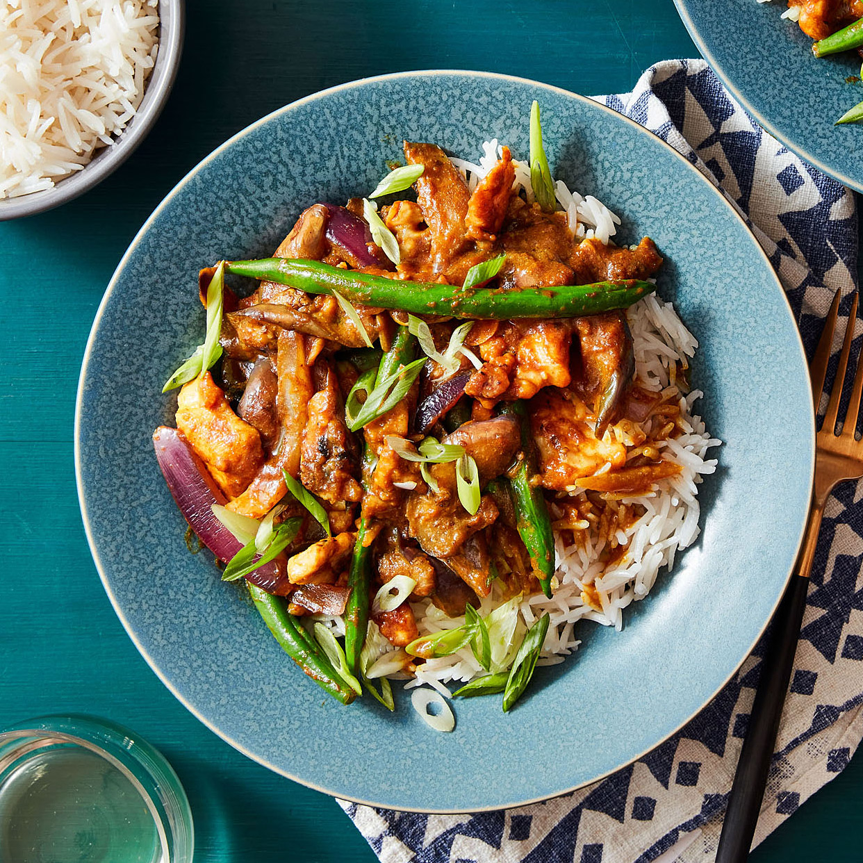 Chicken & Japanese Eggplant Curry