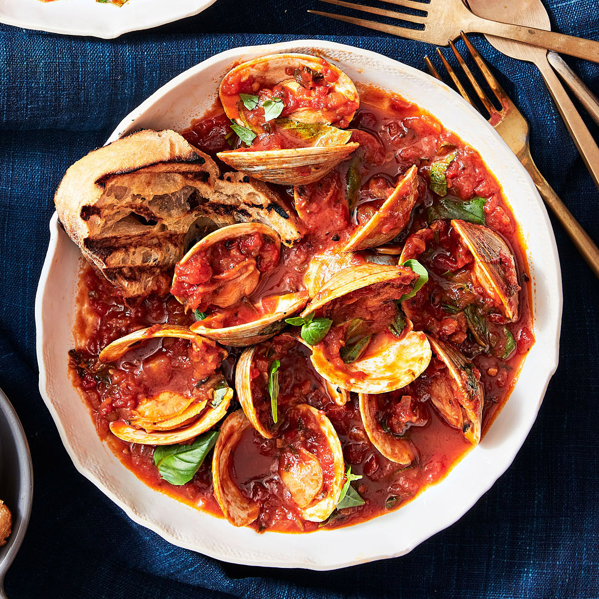 Rachael Ray's Agrodolce Clams with Red Sauce
