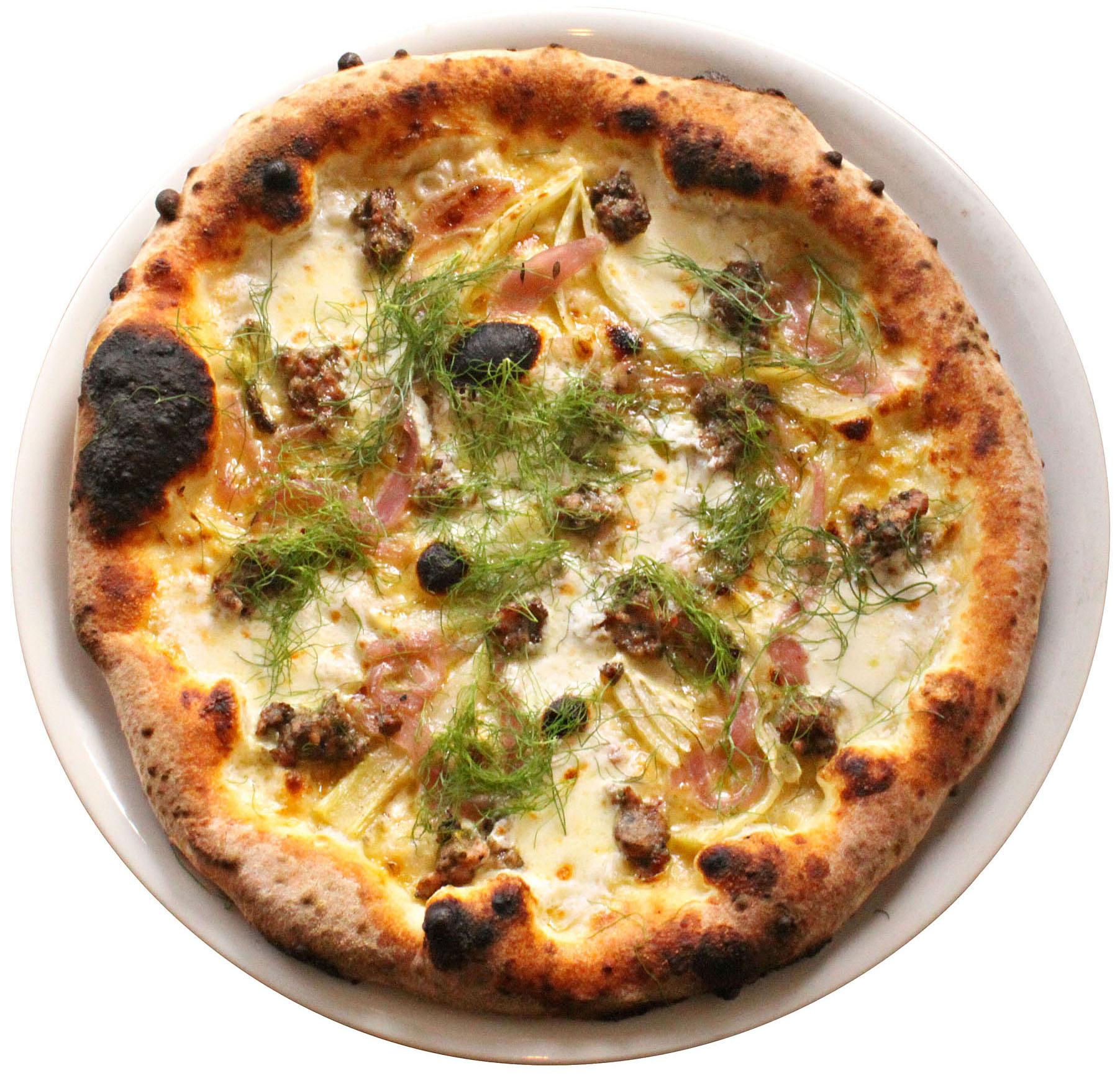 Mozzeria pizza