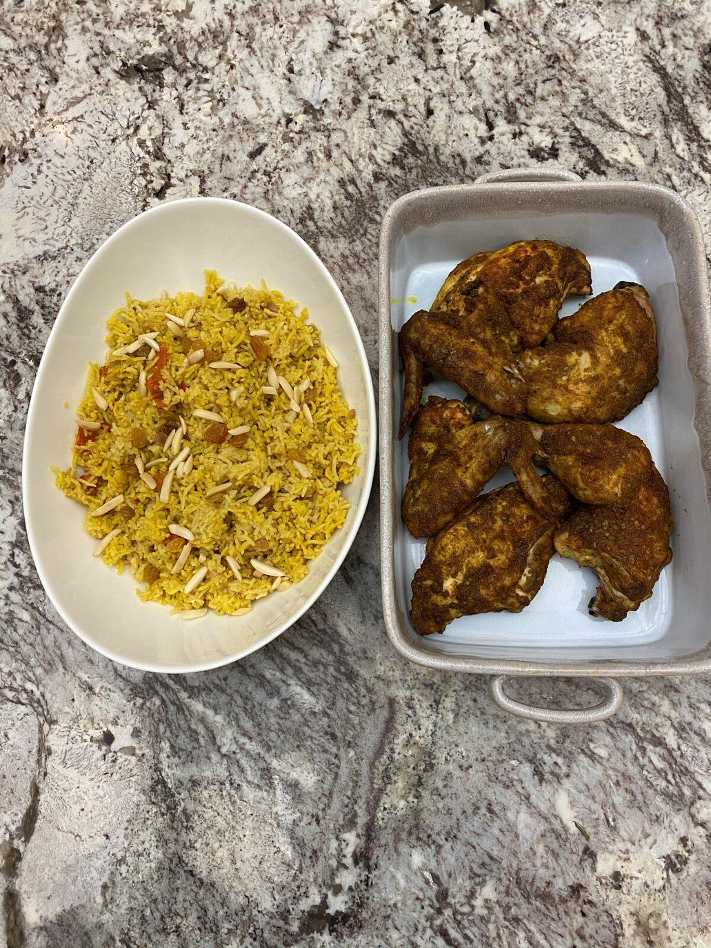 Chicken Mandi & Rice