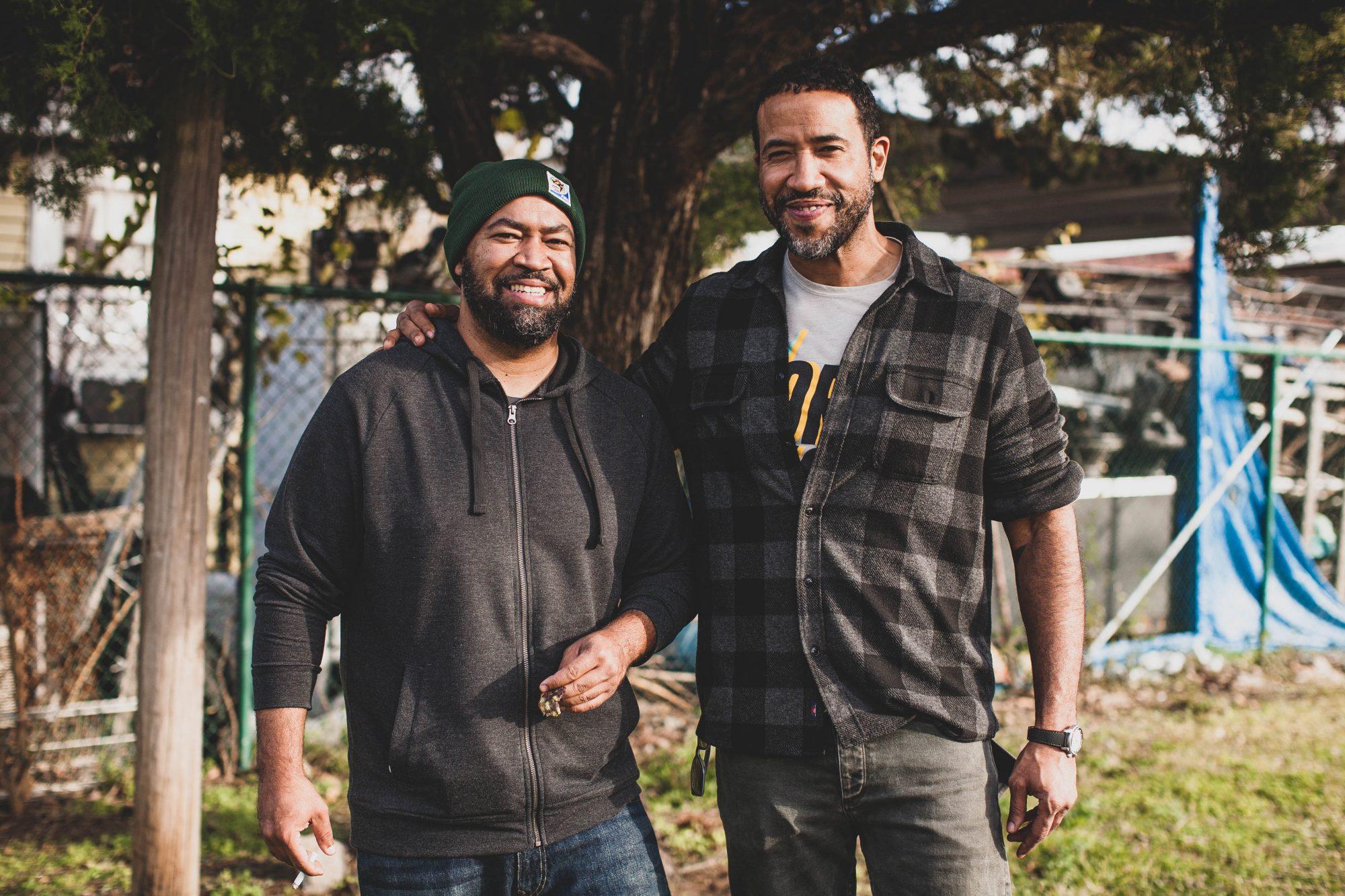 Ben & Chris Williams photo credit Ayaan Ashan Ashaun's Media House