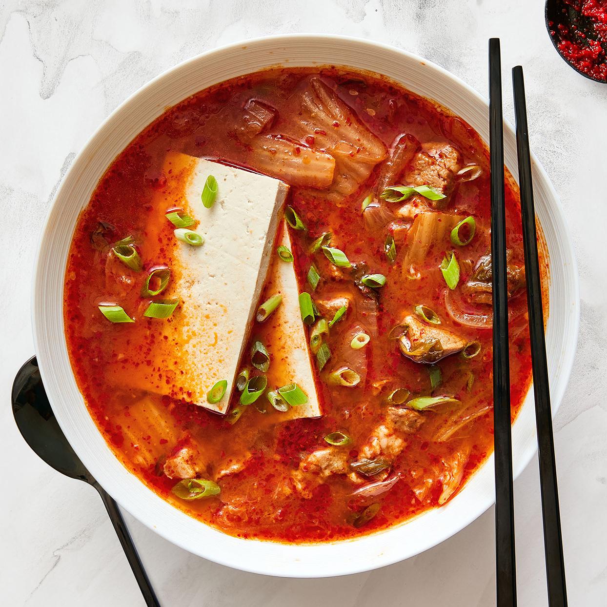 Kimchi-Jjigae (Kimchi Stew)
