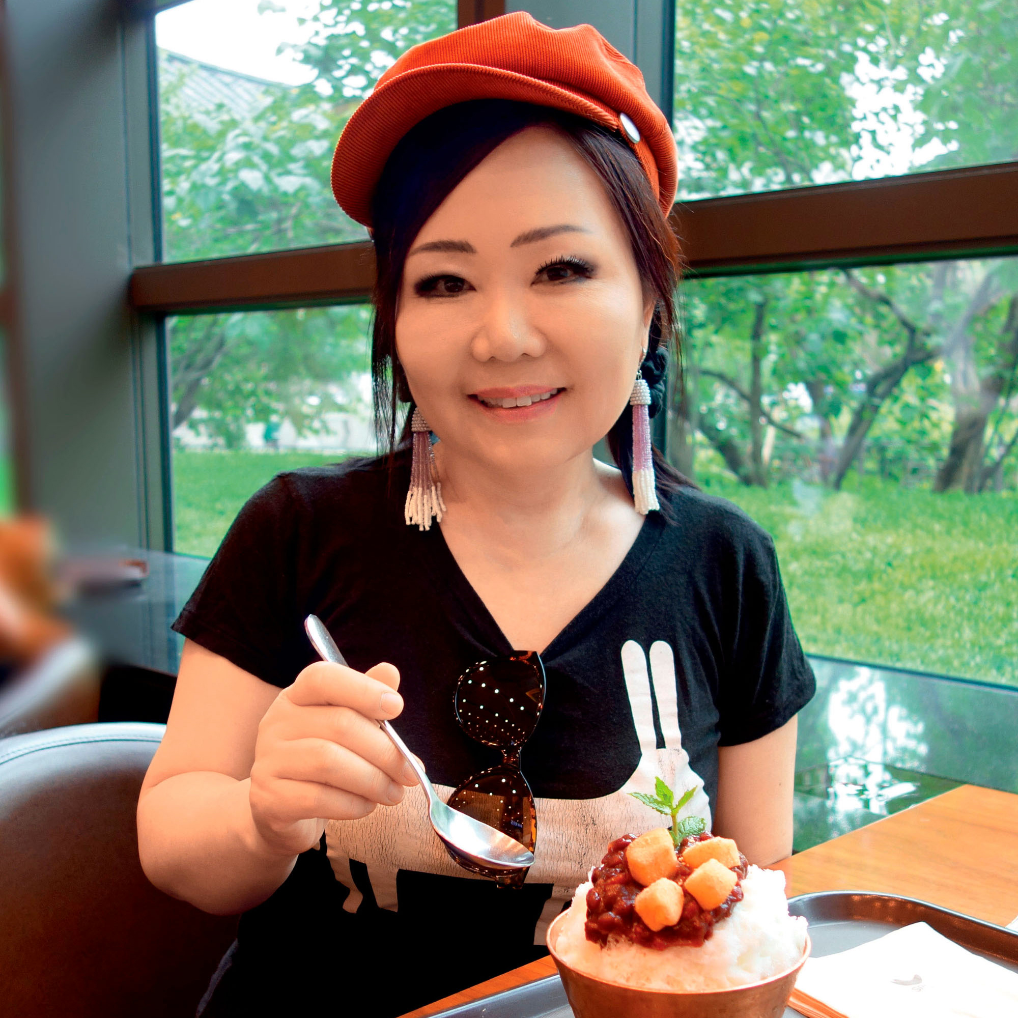 portrait of cookbook author maangchi