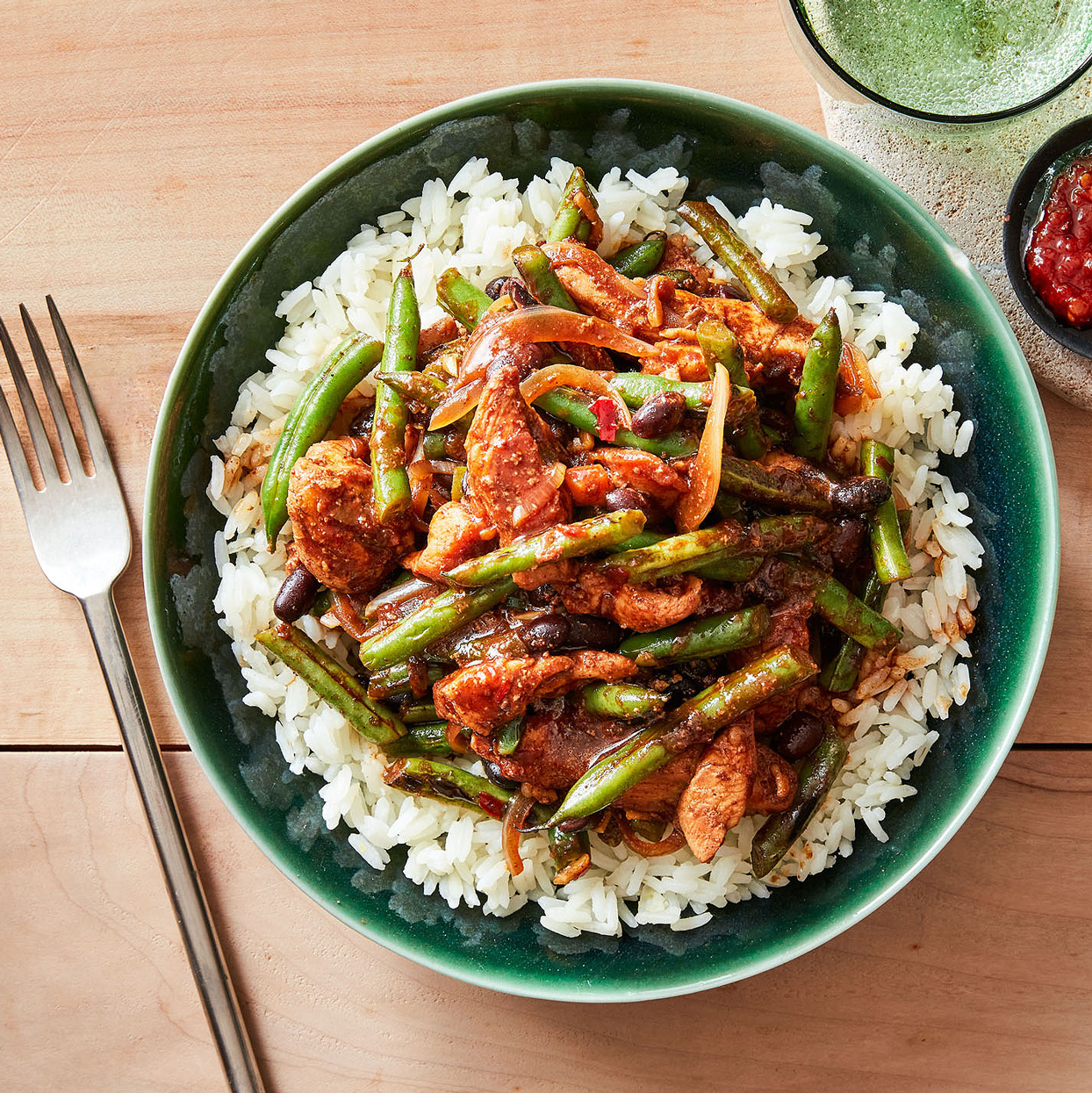 Five-Spice Chicken with Beans