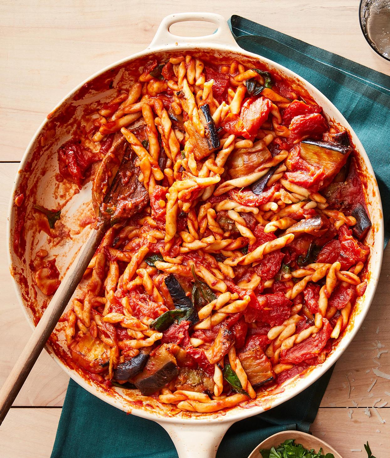 Sweet Spicy Pasta Alla Norma