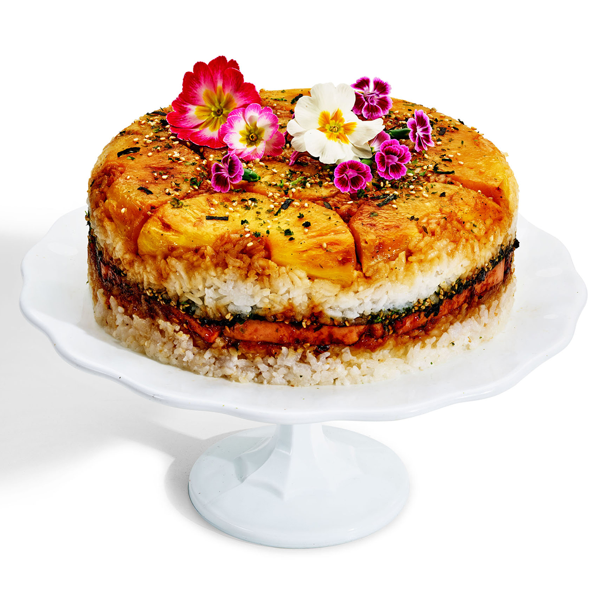 Spam Musubirthday Cake