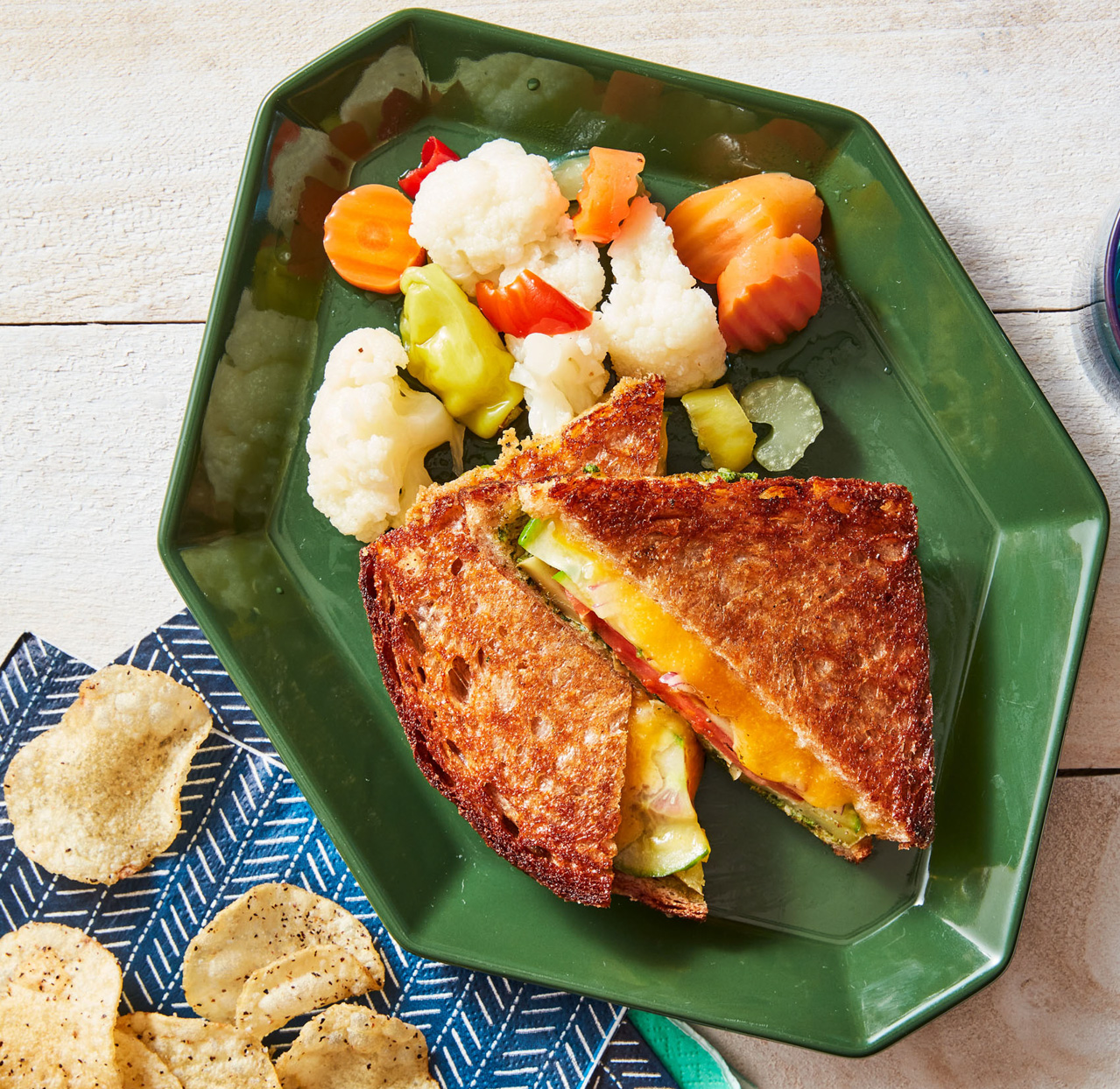 Bombay Grilled Cheese