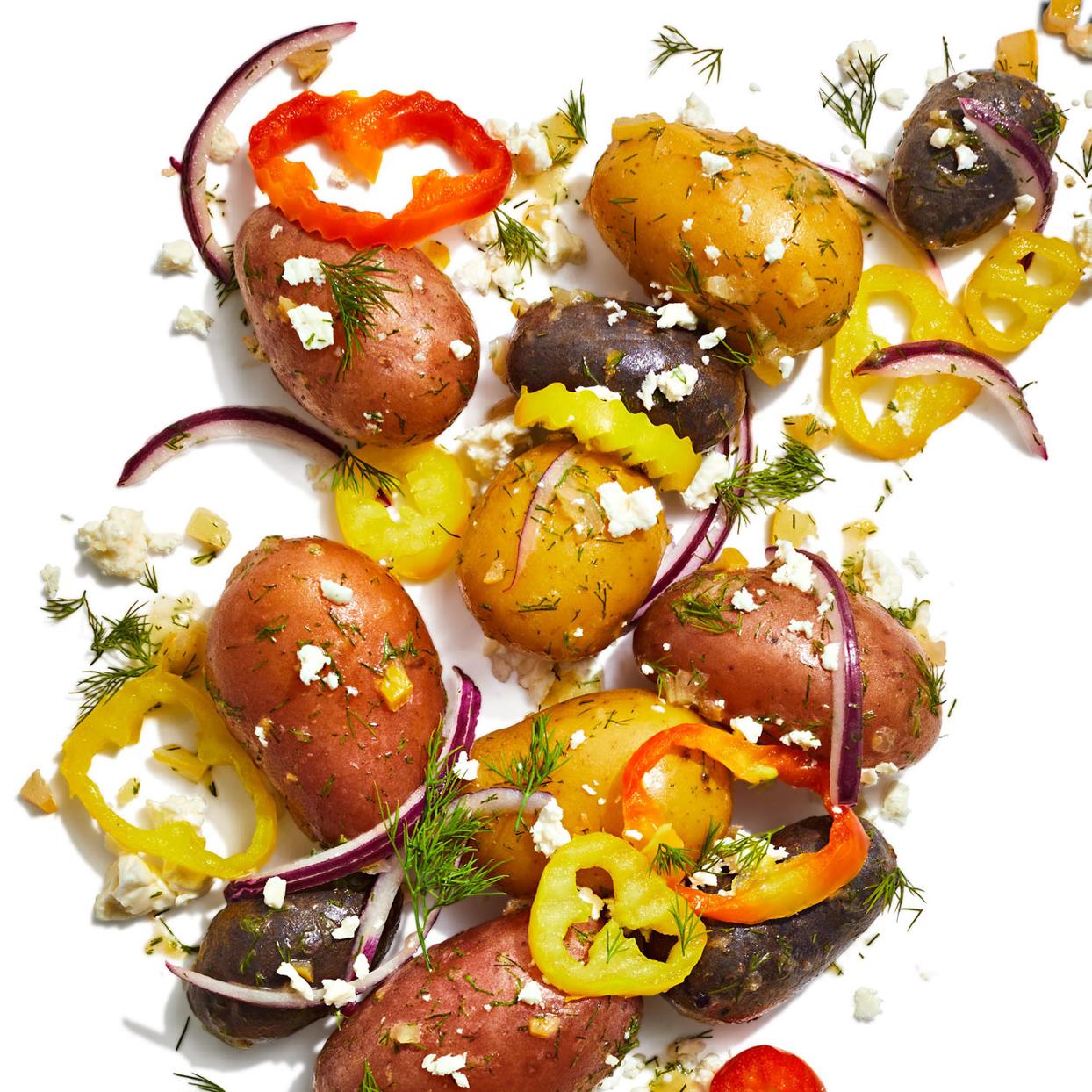 greek lemony potatoes