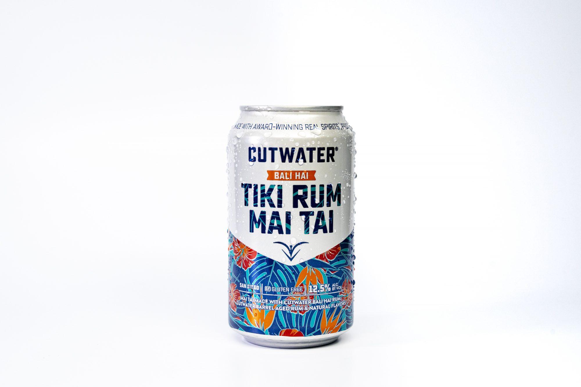 Can of Cutwater Tiki Rum Mai Tai
