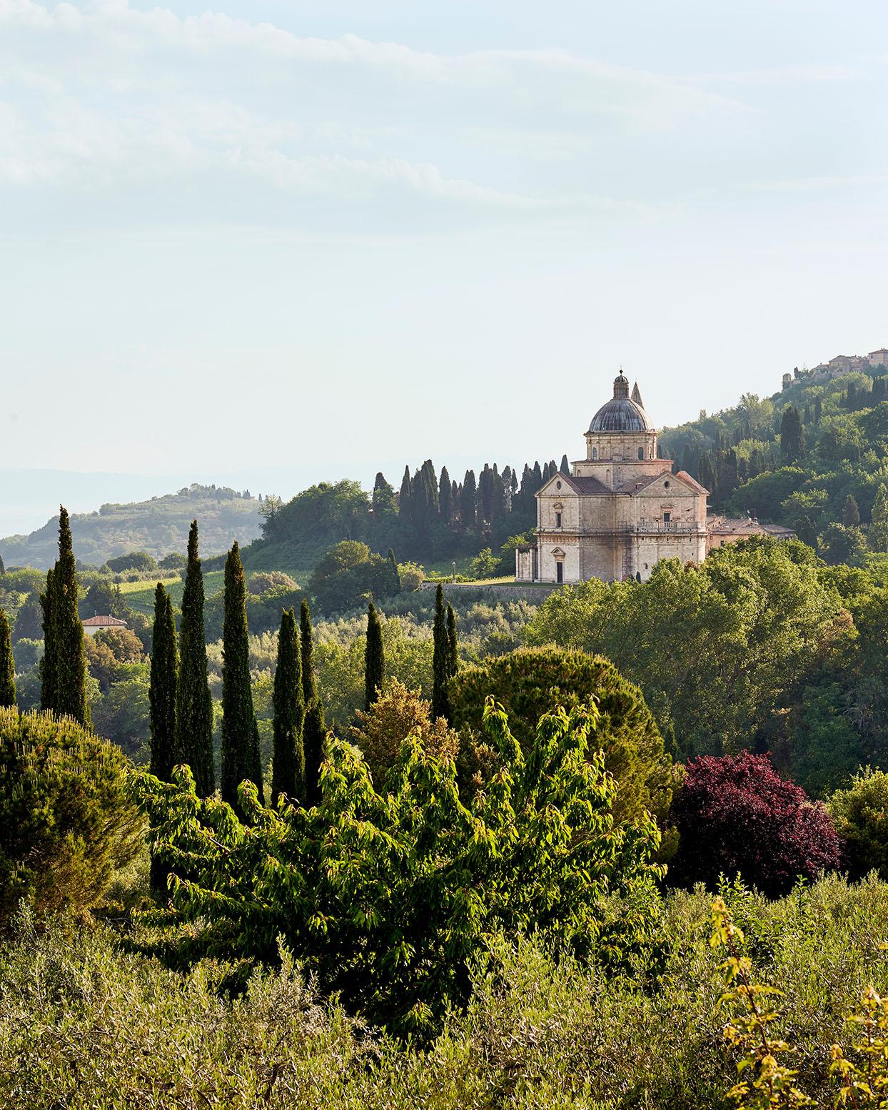 Italian Tuscan countryside